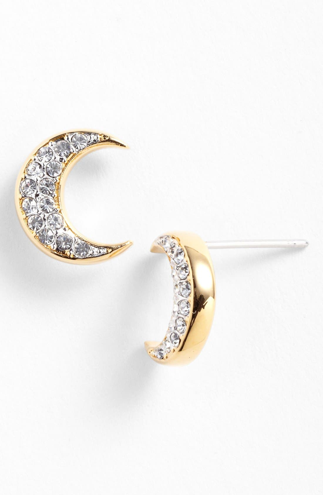 Main Image - Nadri 'Charmers' Pavé Symbol Stud Earrings (Nordstrom Exclusive)