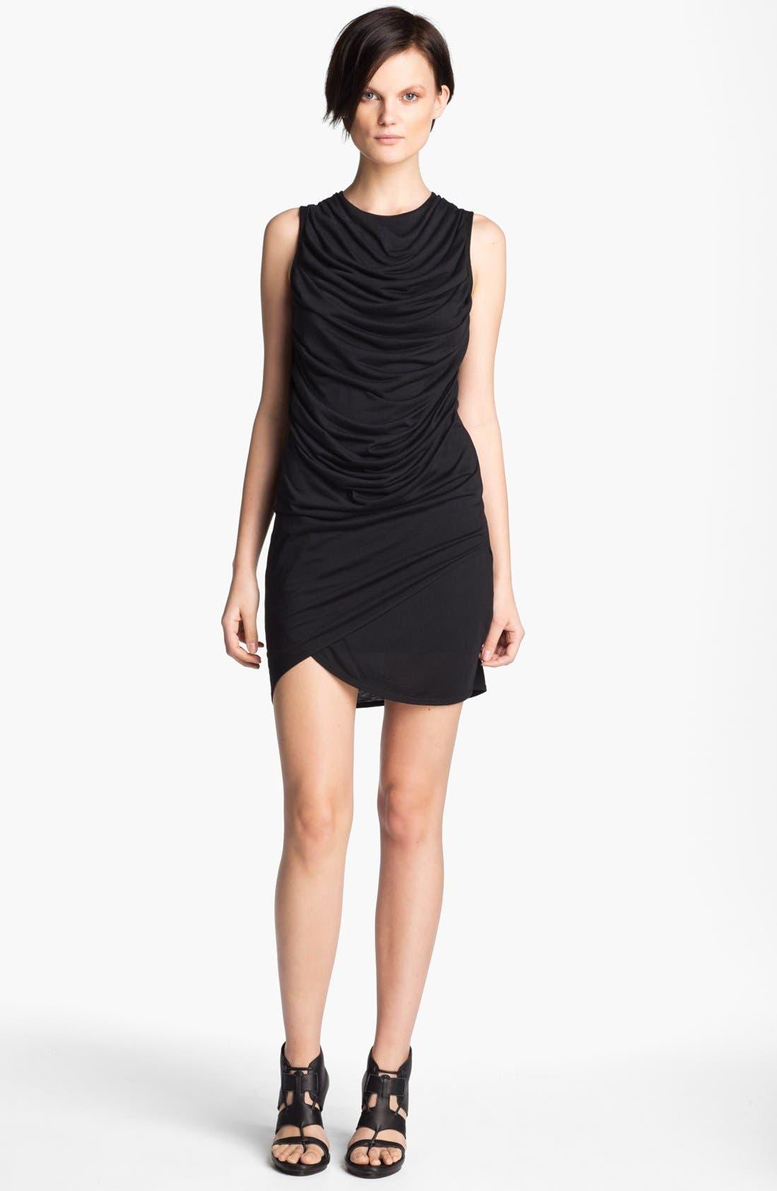 Alternate Image 1 Selected - HELMUT Helmut Lang 'Kinetic' Draped Jersey Dress
