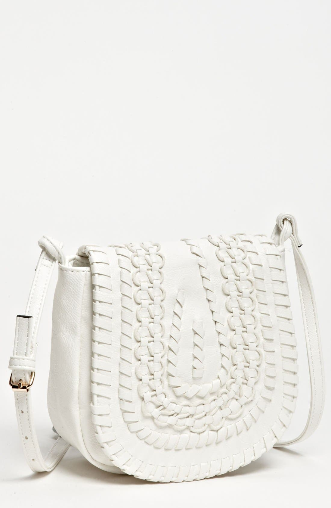 Alternate Image 1 Selected - Big Buddha 'Baker' Faux Leather Crossbody Bag, Small