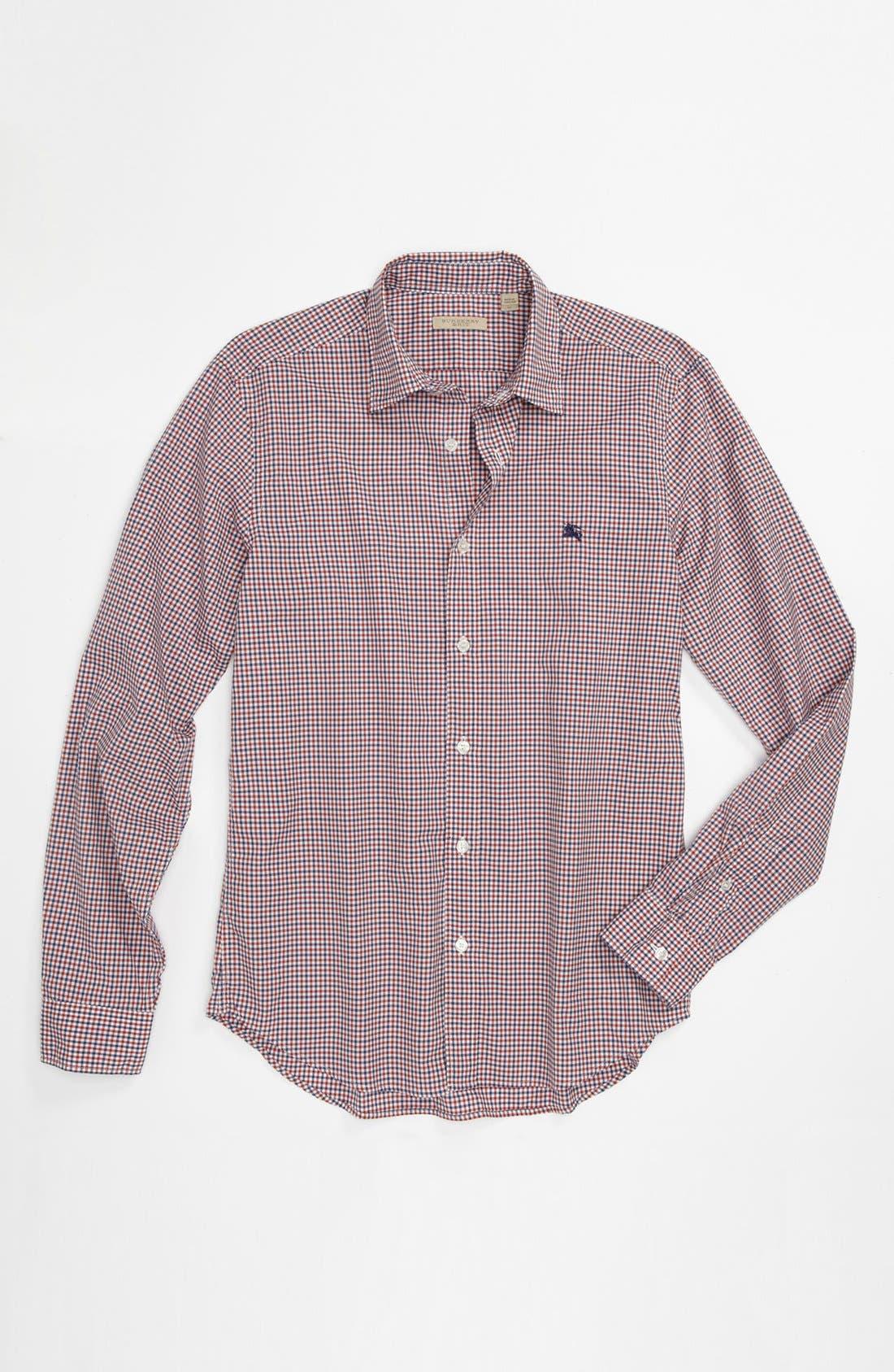 Alternate Image 1 Selected - Burberry Brit 'Henry' Gingham Sport Shirt