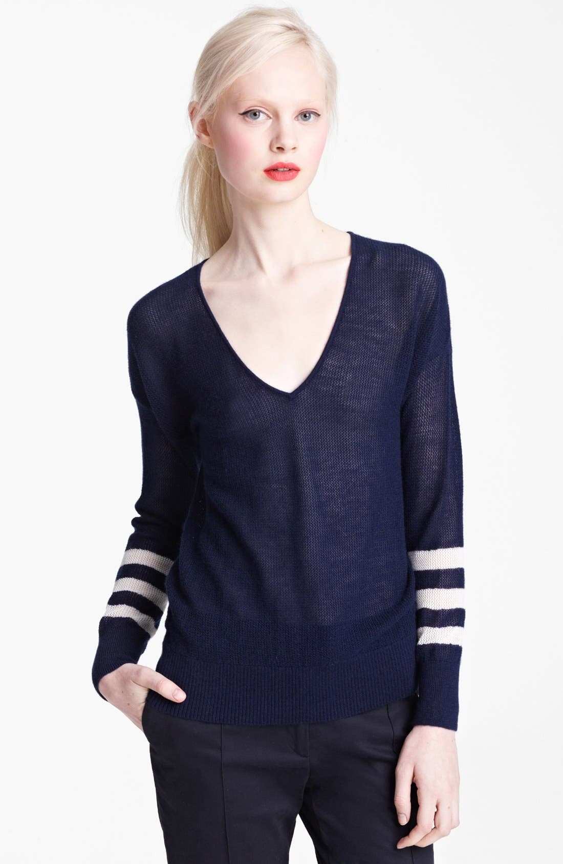 Alternate Image 1 Selected - Band of Outsiders Cashmere Sweater