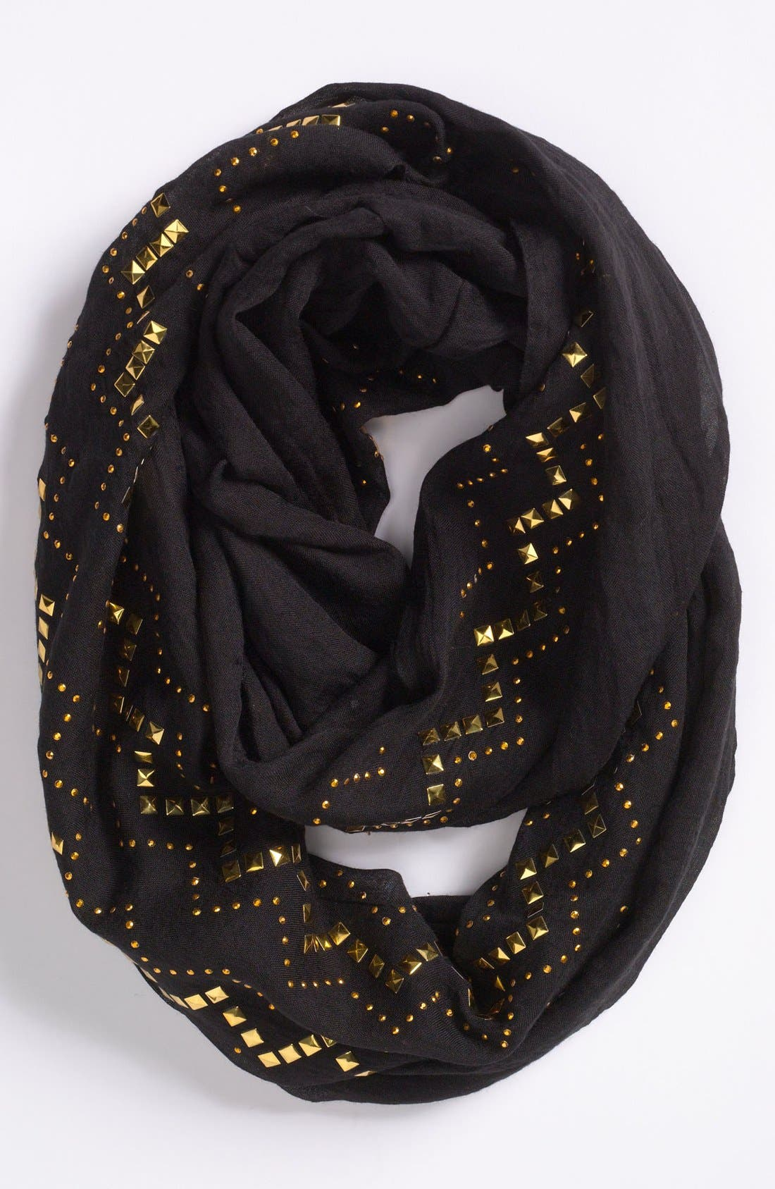 Main Image - Evelyn K Studded Scarf