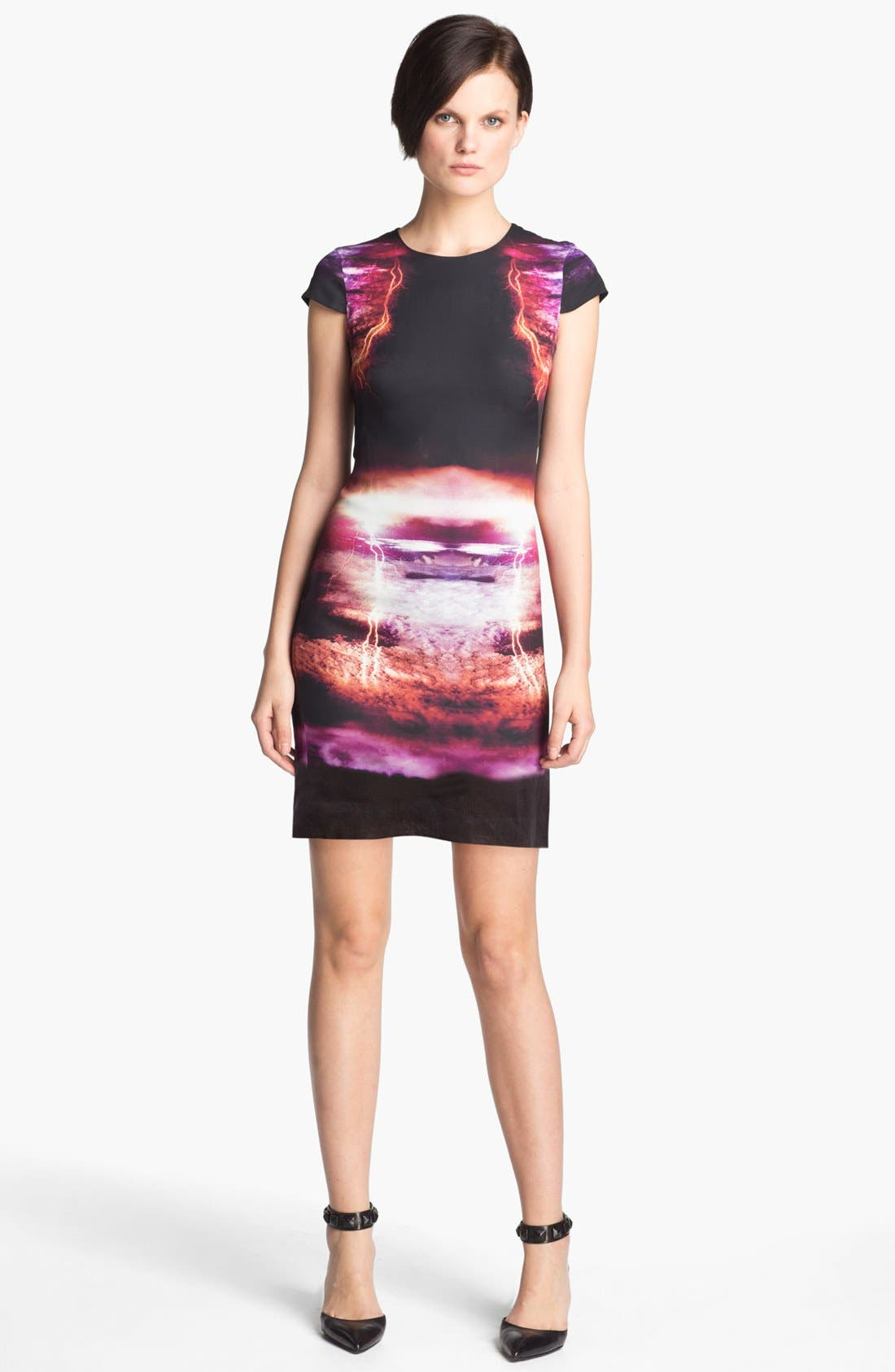 Alternate Image 1 Selected - McQ by Alexander McQueen Lightning Print Dress