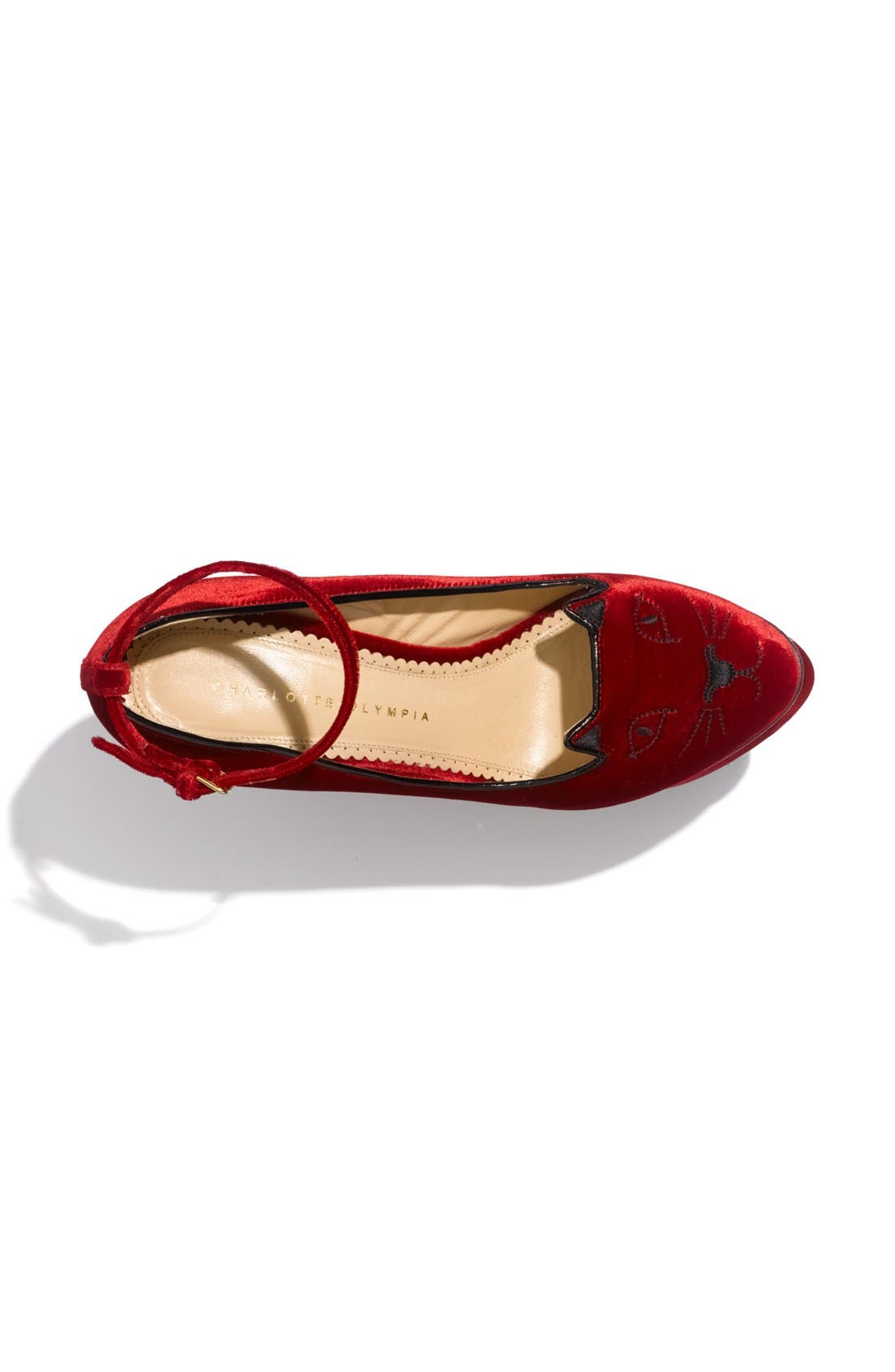 Alternate Image 3  - Charlotte Olympia 'Kitty' Wedge