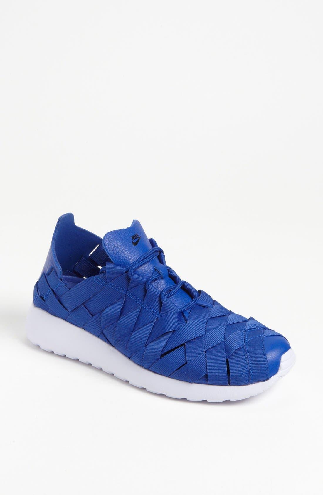 Alternate Image 1 Selected - Nike 'Roshe Run' Woven Sneaker (Women)