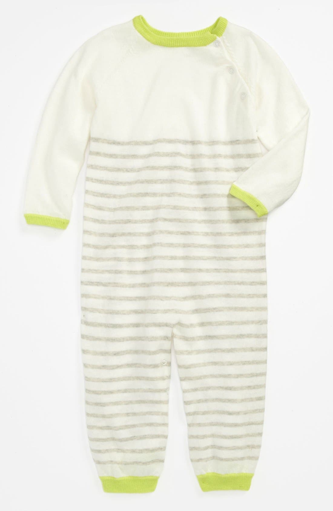 Alternate Image 1 Selected - egg by susan lazar Knit Romper (Baby)
