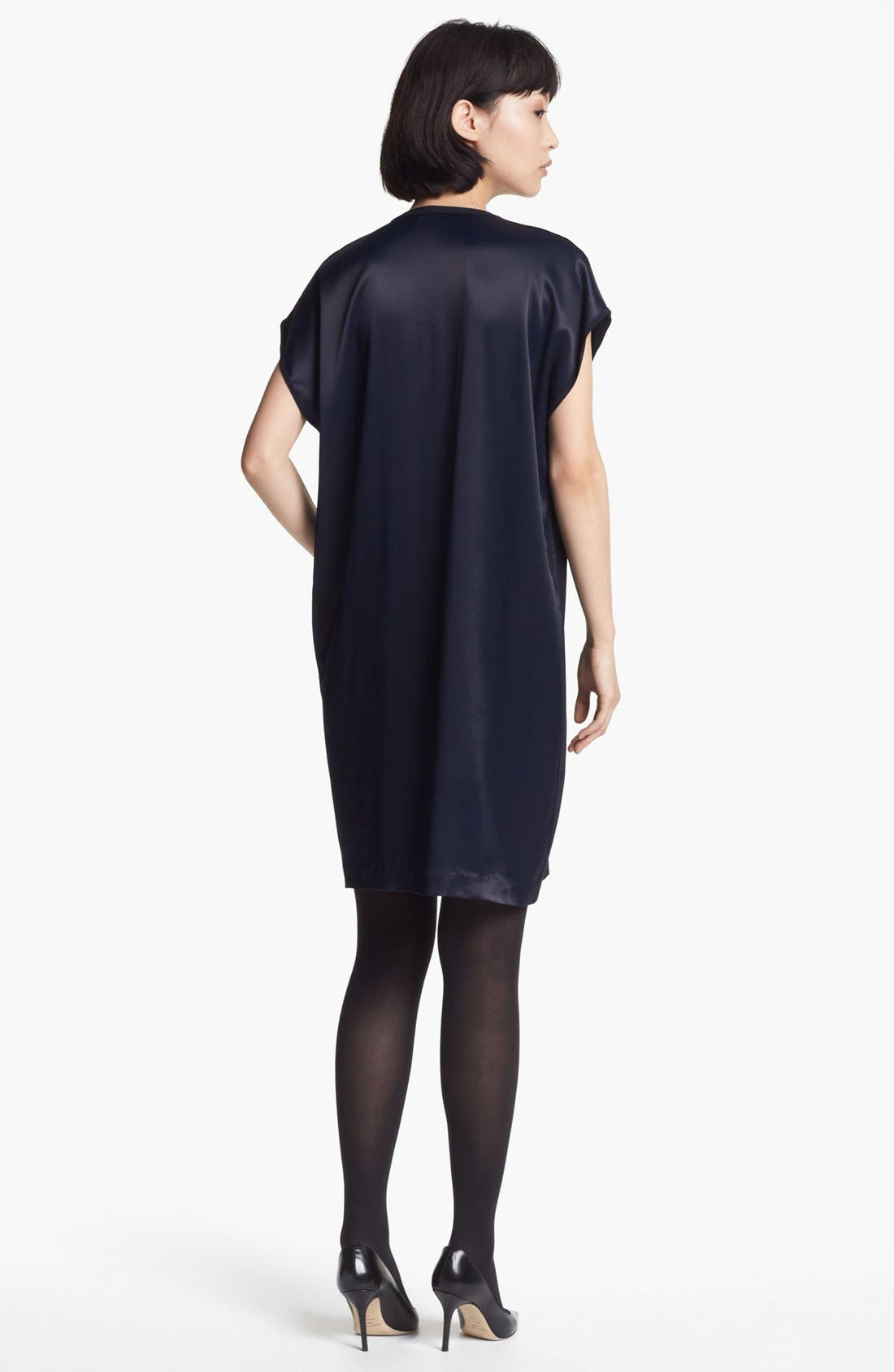 Alternate Image 2  - Vince Split Neck Shift Dress