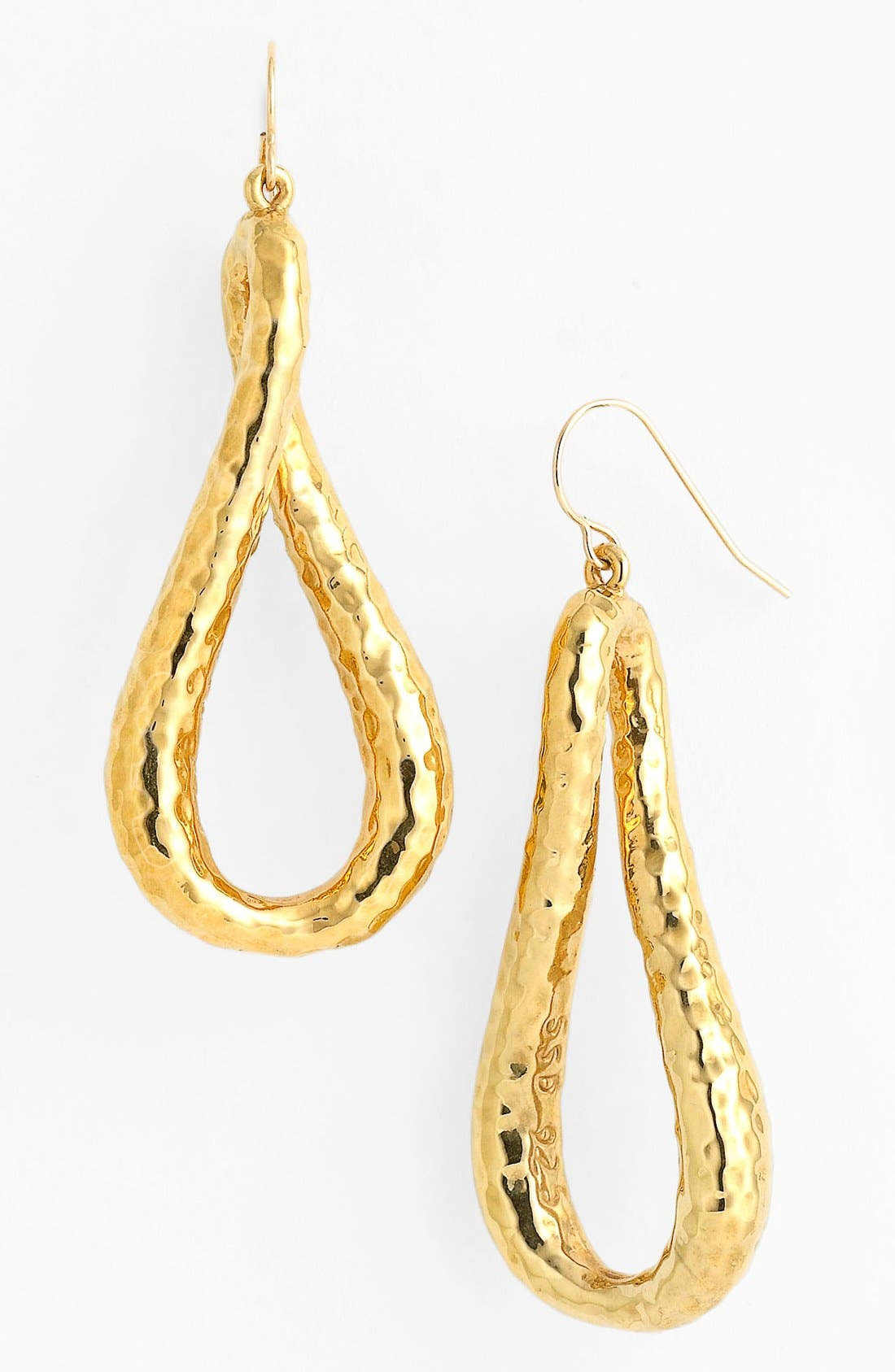 Alternate Image 1 Selected - Simon Sebbag 'Cielo' Hammered Twisted Drop Earrings