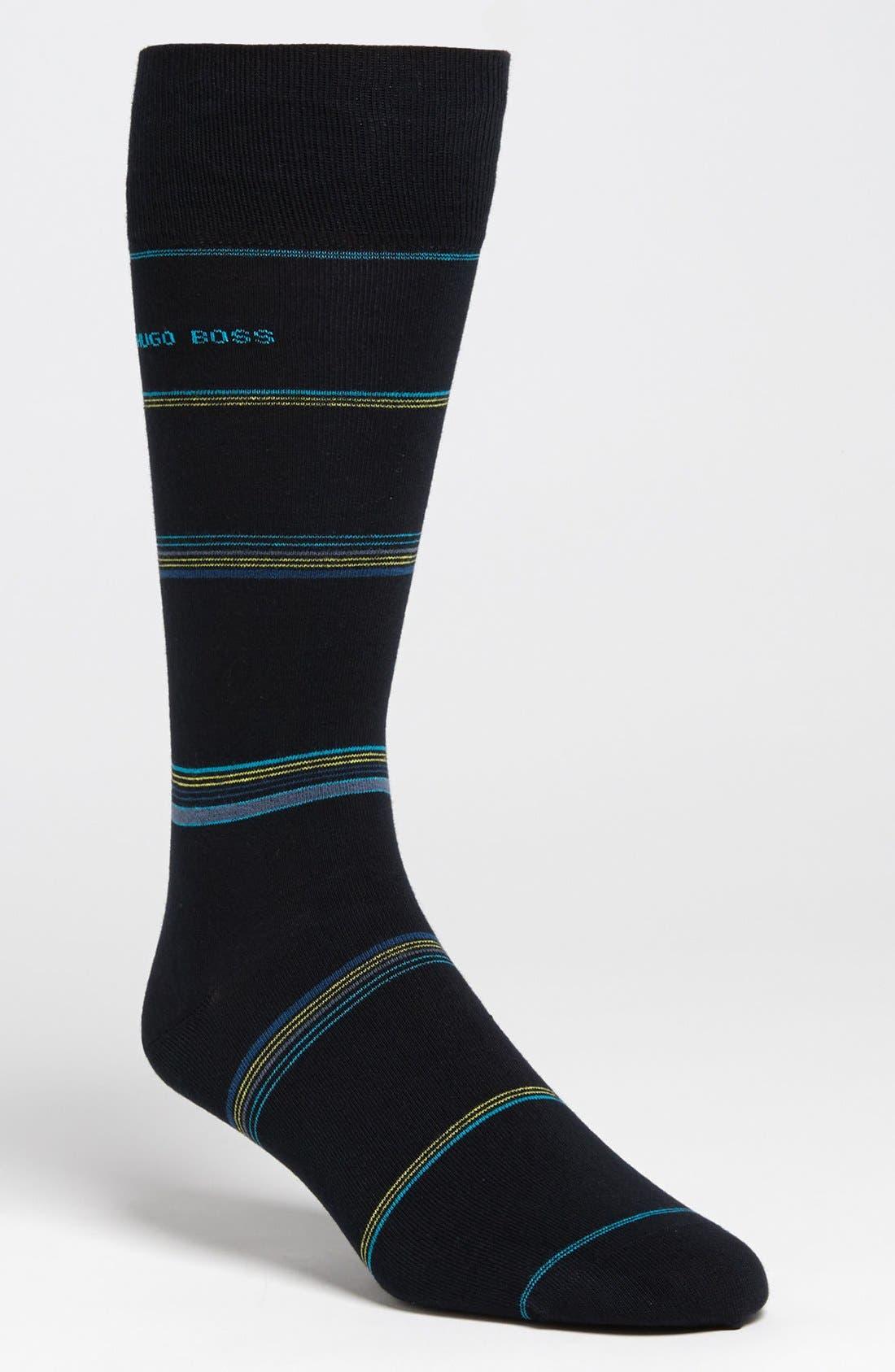Alternate Image 1 Selected - BOSS HUGO BOSS Cotton Blend Socks