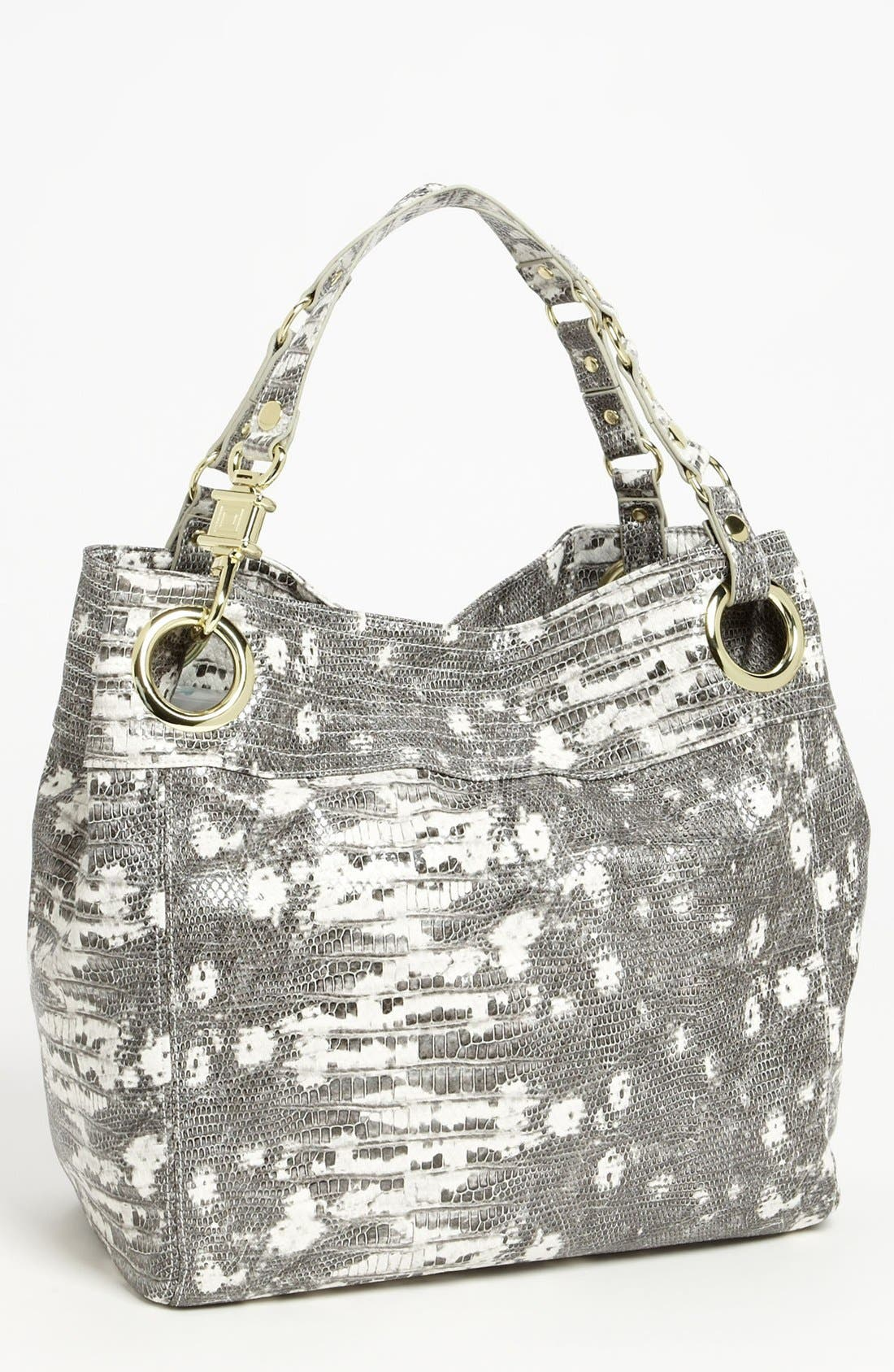 Main Image - Steven by Steve Madden 'Candy Coated' Lizard Embossed Tote