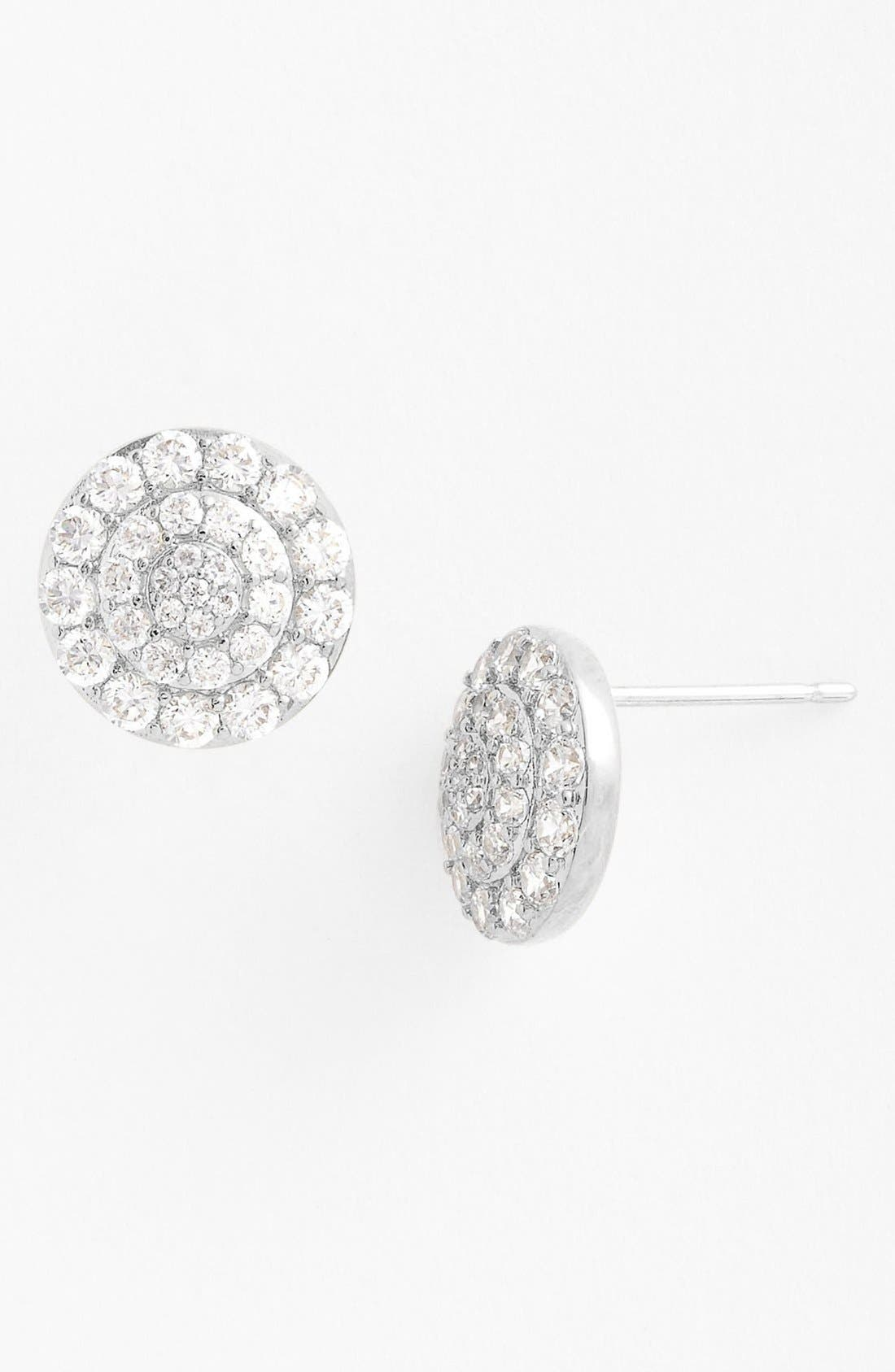 Alternate Image 1 Selected - Nadri Round Stud Earrings