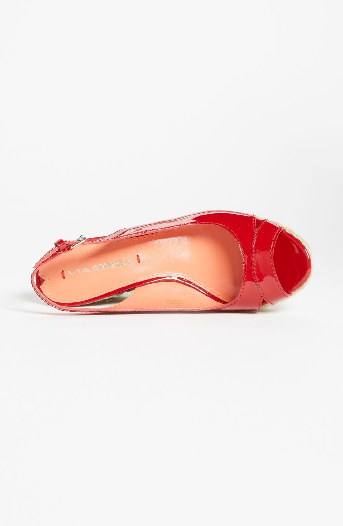 Alternate Image 3  - Via Spiga 'Mahala' Wedge Sandal