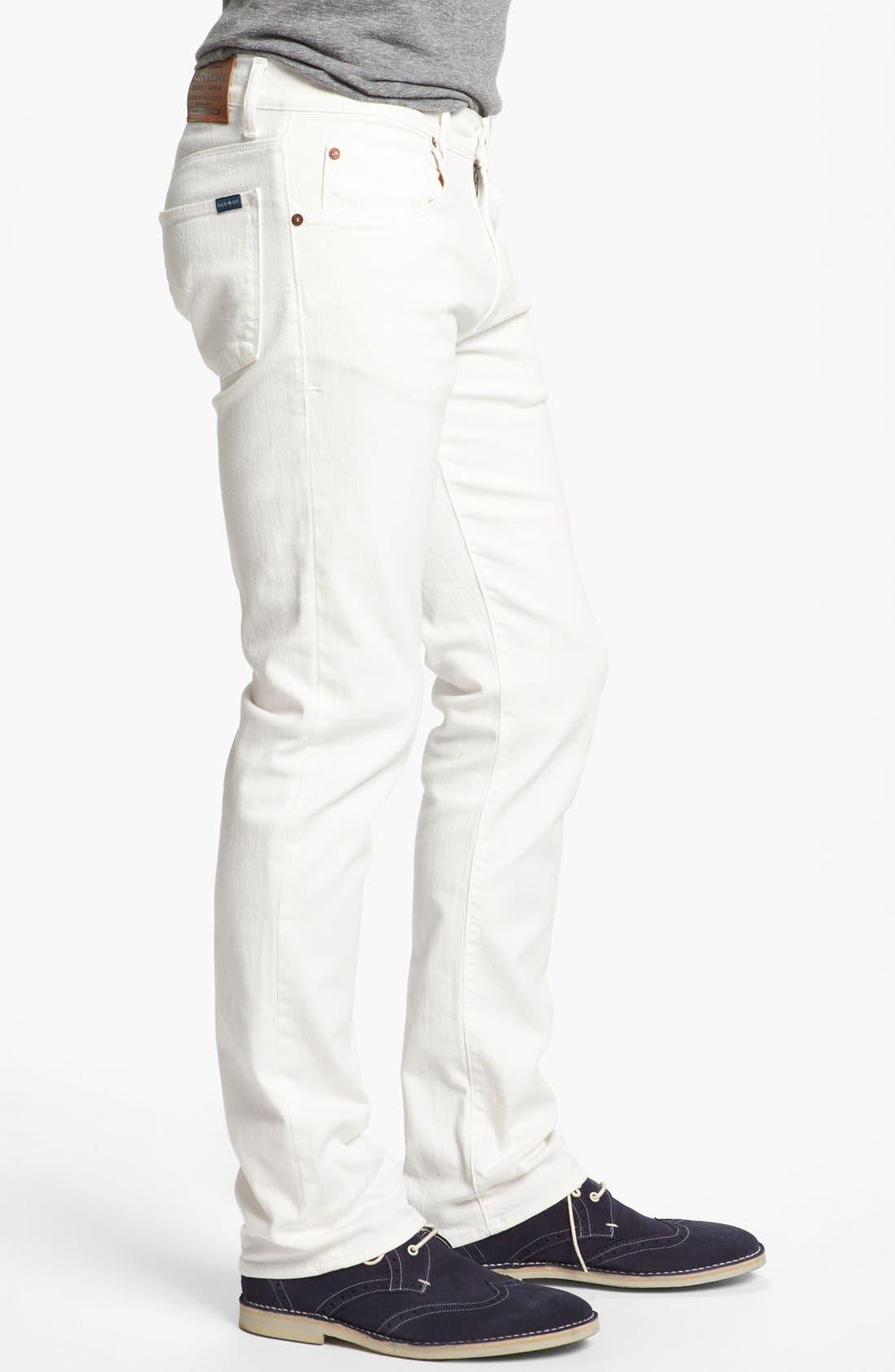 Alternate Image 3  - Façonnable Tailored Denim Straight Leg Jeans