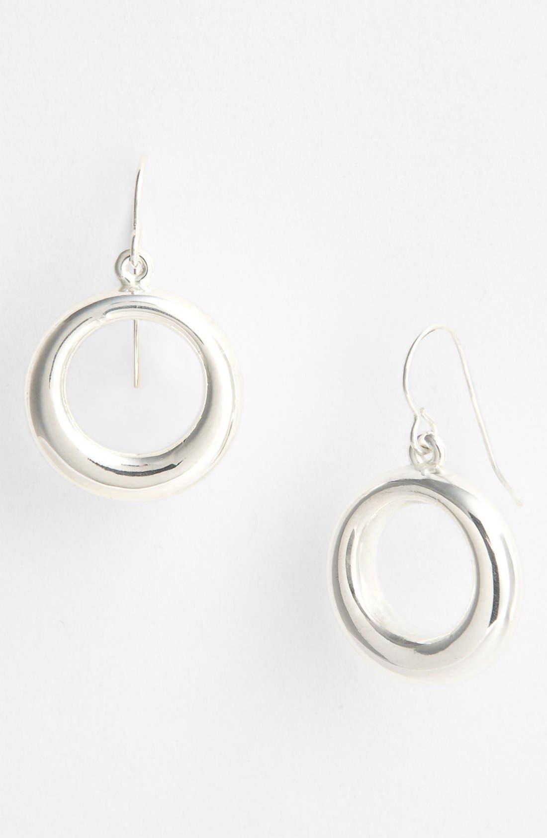 Alternate Image 1 Selected - Simon Sebbag 'Contemporary' Small Open Circle Drop Earrings