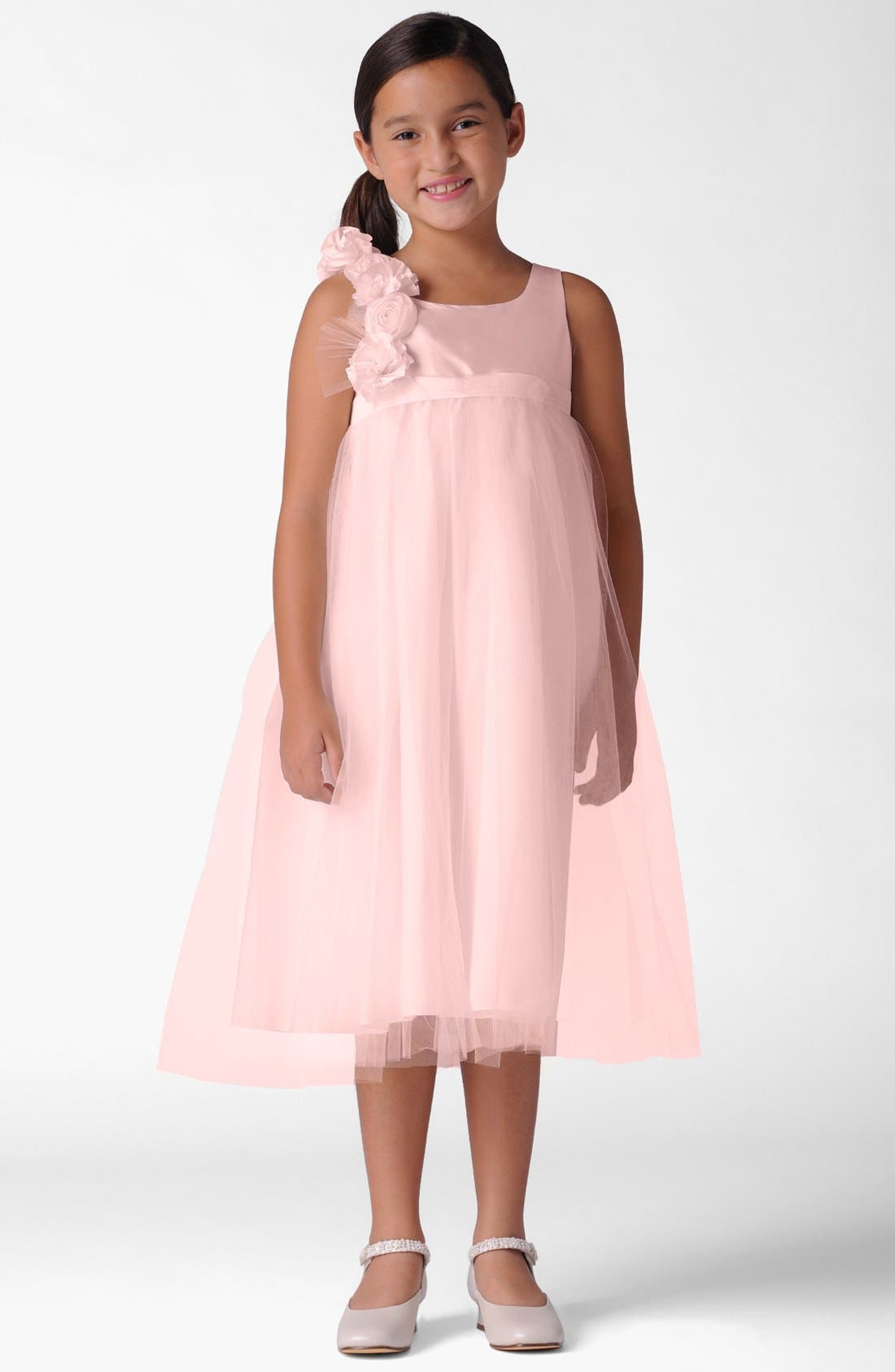 Alternate Image 1 Selected - Us Angels Dress (Baby Girls, Toddler Girls, Little Girls & Big Girls)