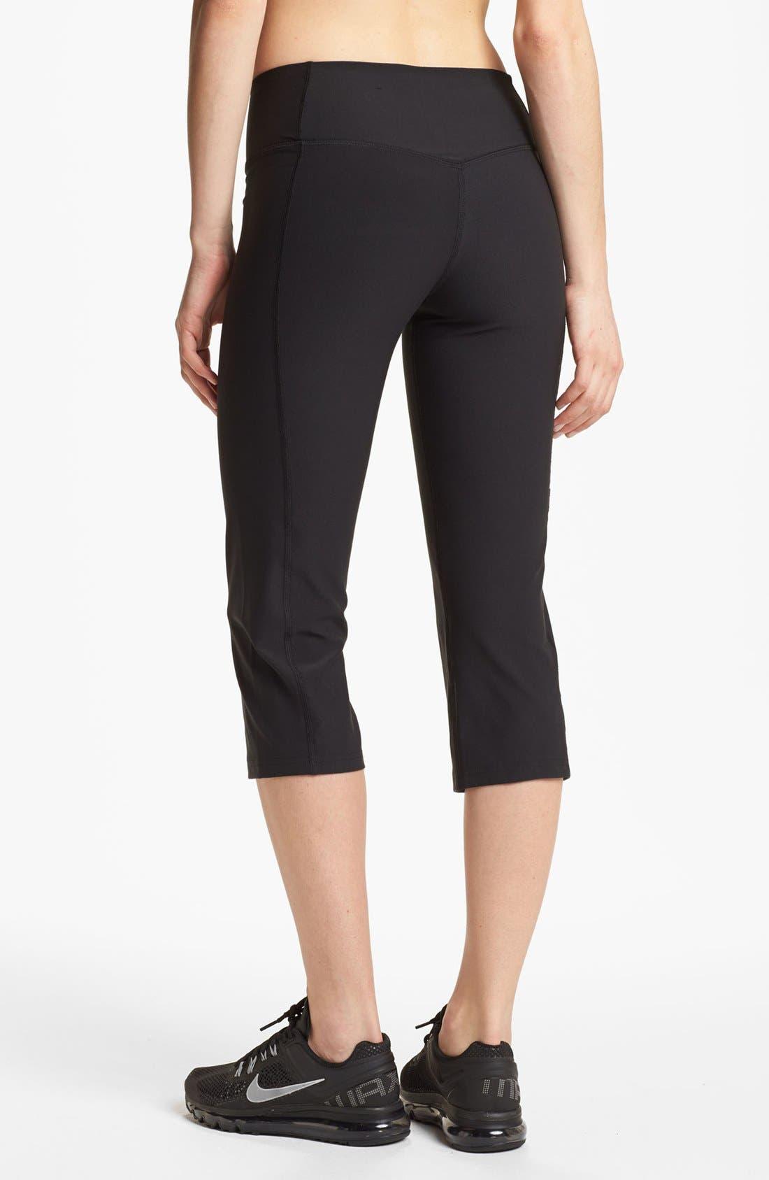 Alternate Image 2  - Nike 'Legend 2.0 Slim Poly' Capri Pants
