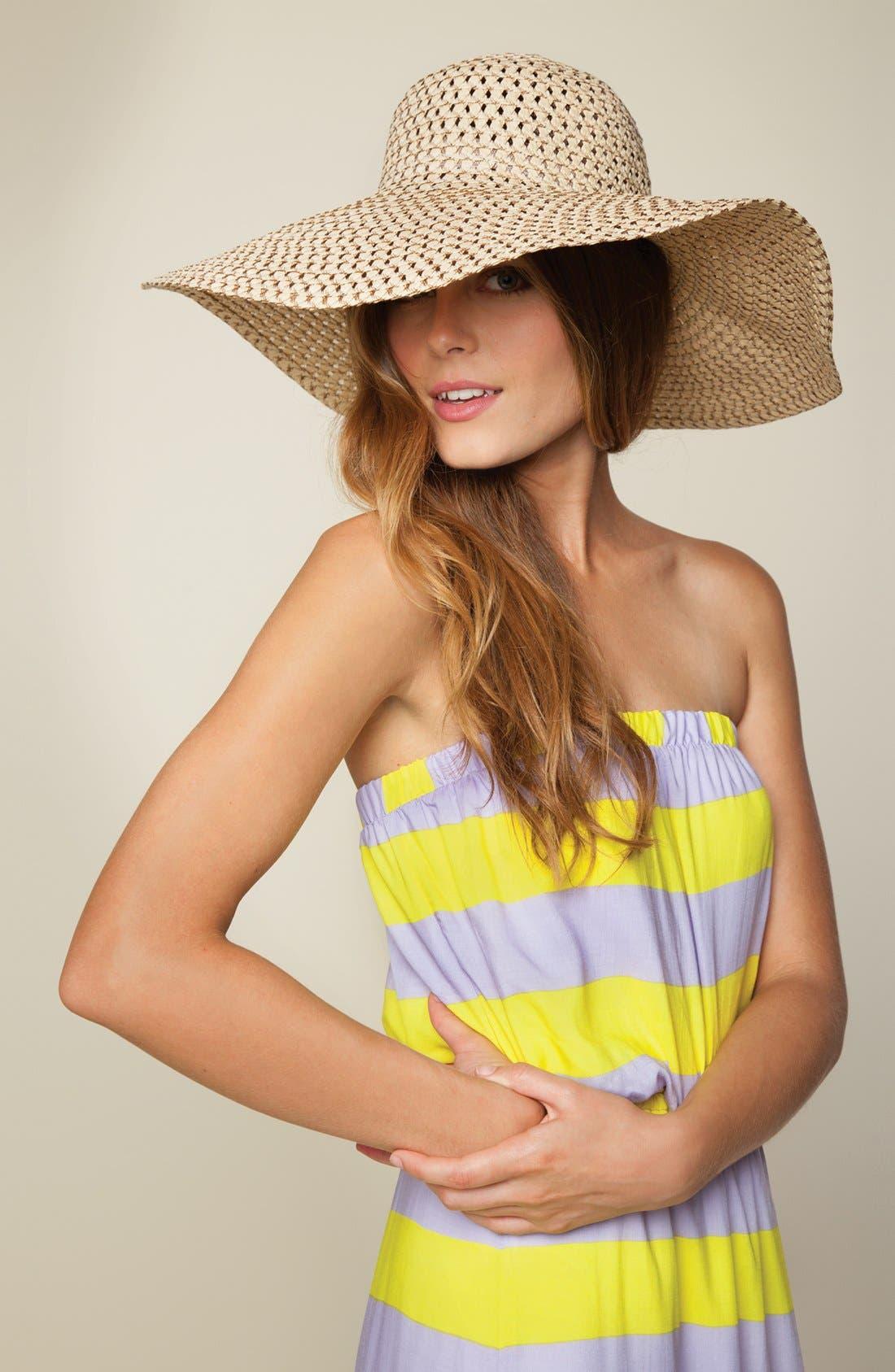 Alternate Image 5  - Splendid 'Magnolia' Stripe Strapless Maxi Dress