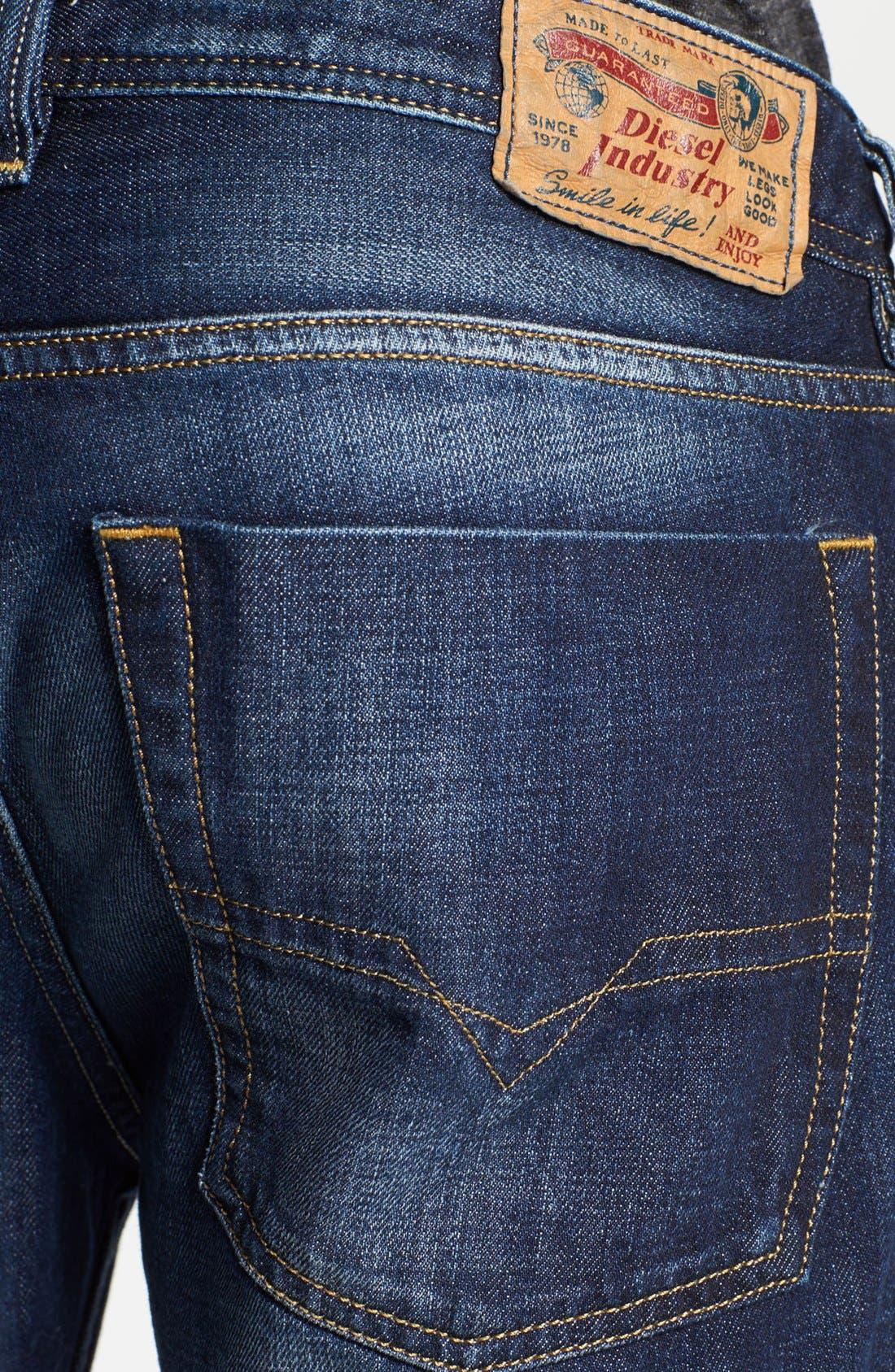 Alternate Image 4  - DIESEL® 'Zatiny' Bootcut Jeans (074W)