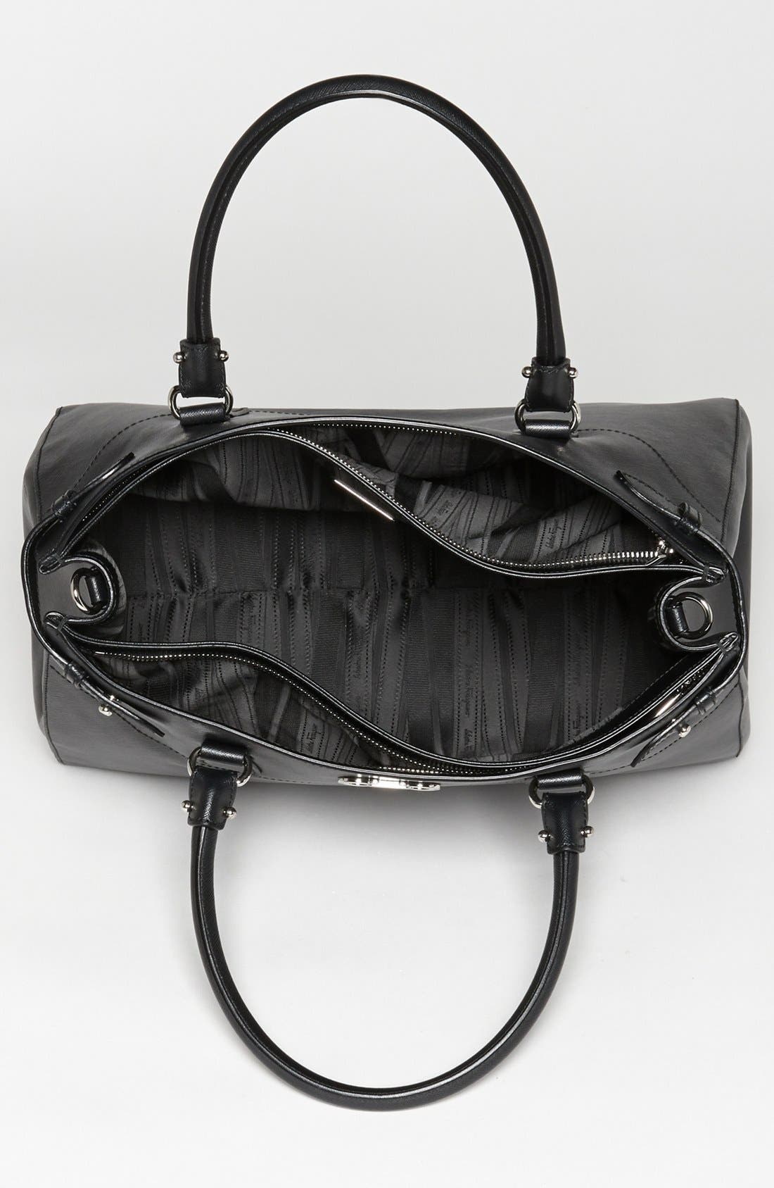 Alternate Image 3  - Salvatore Ferragamo 'Batik' Leather Satchel