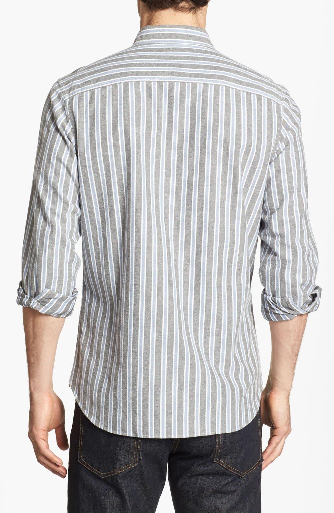 Alternate Image 2  - Wallin & Bros. Trim Fit Sport Shirt (Online Exclusive)