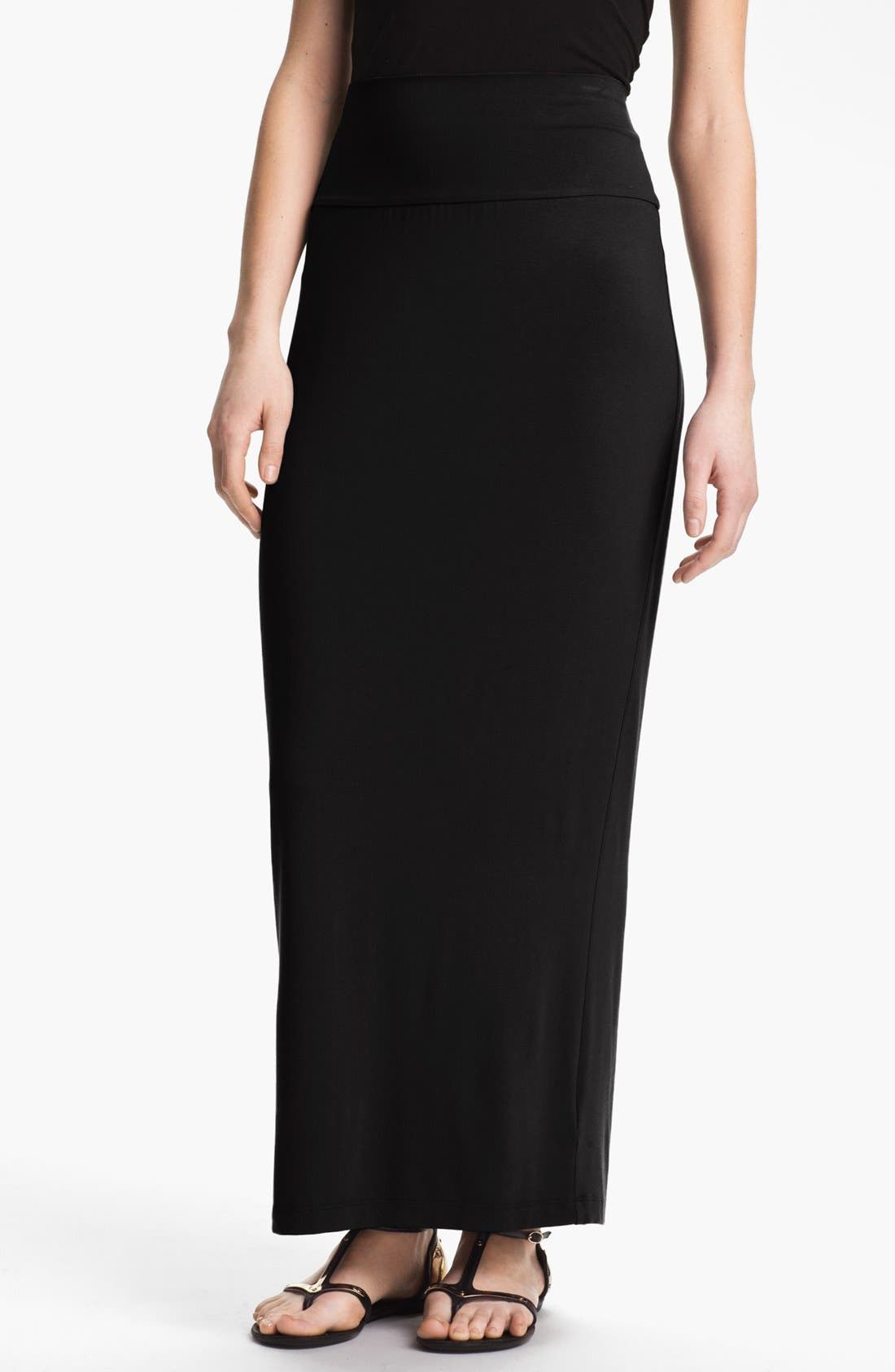 Alternate Image 1 Selected - Eileen Fisher Jersey Maxi Skirt