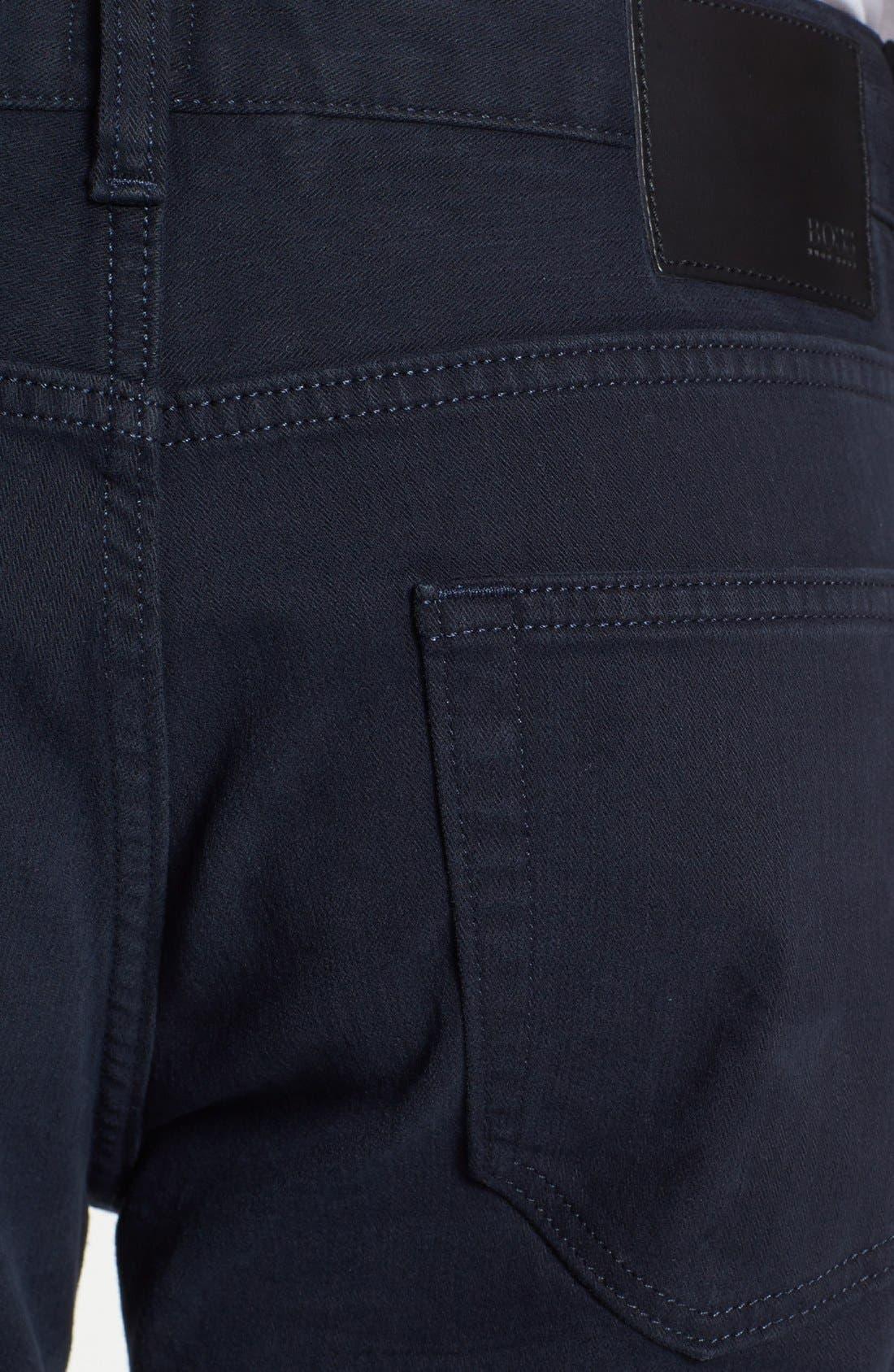 Alternate Image 3  - BOSS HUGO BOSS 'Kansas' Tonal Stripe Straight Leg Pants