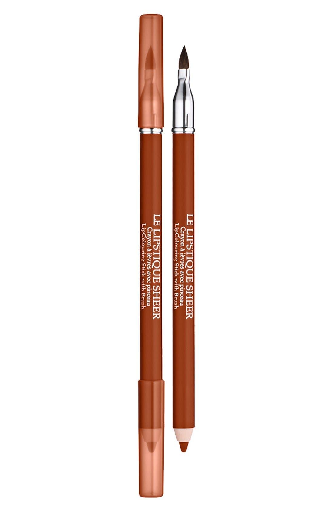 Lancôme Le Lipstique Dual Ended Lip Pencil with Brush