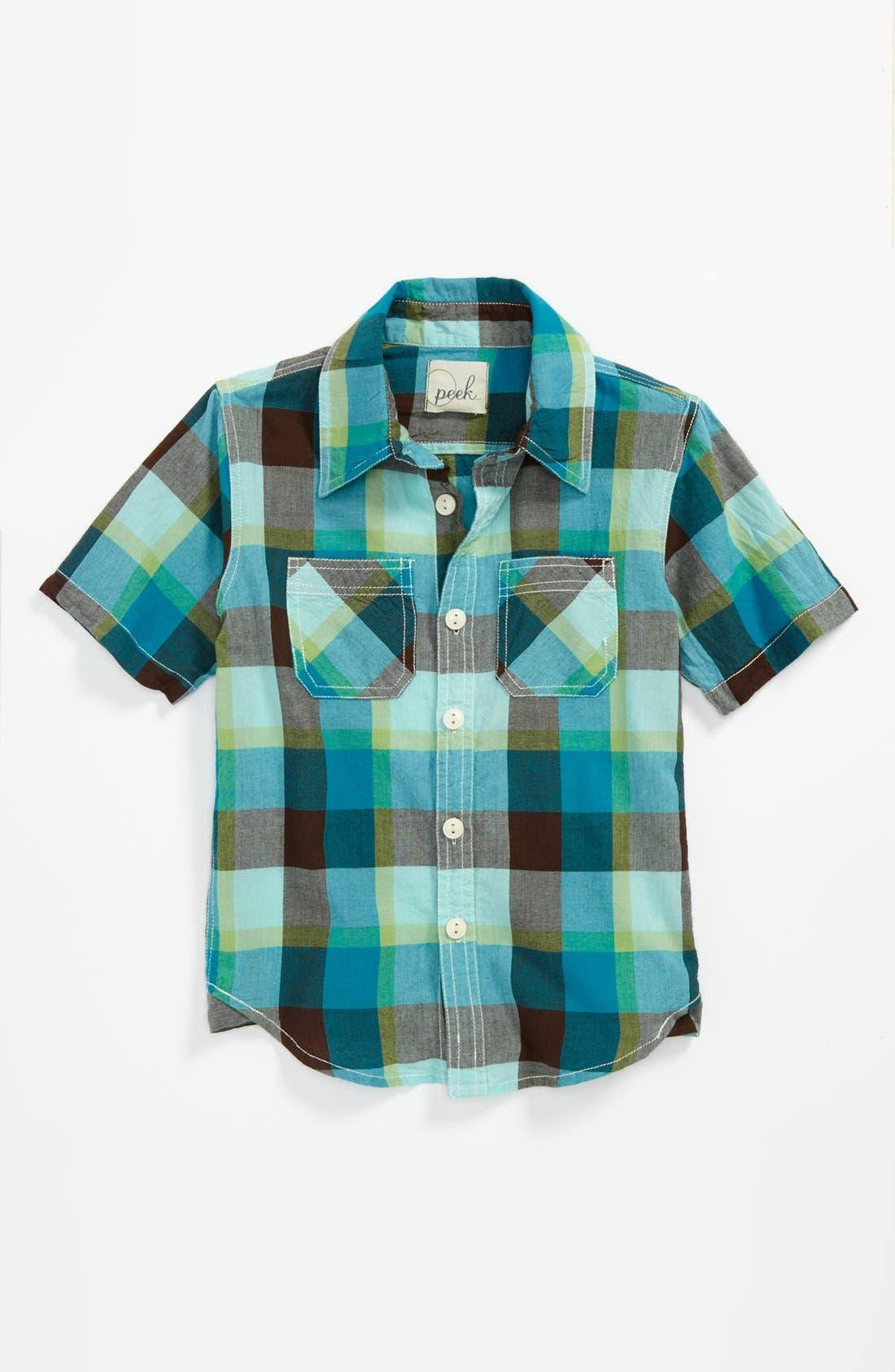 Alternate Image 1 Selected - Peek 'Clint' Utility Shirt (Big Boys)