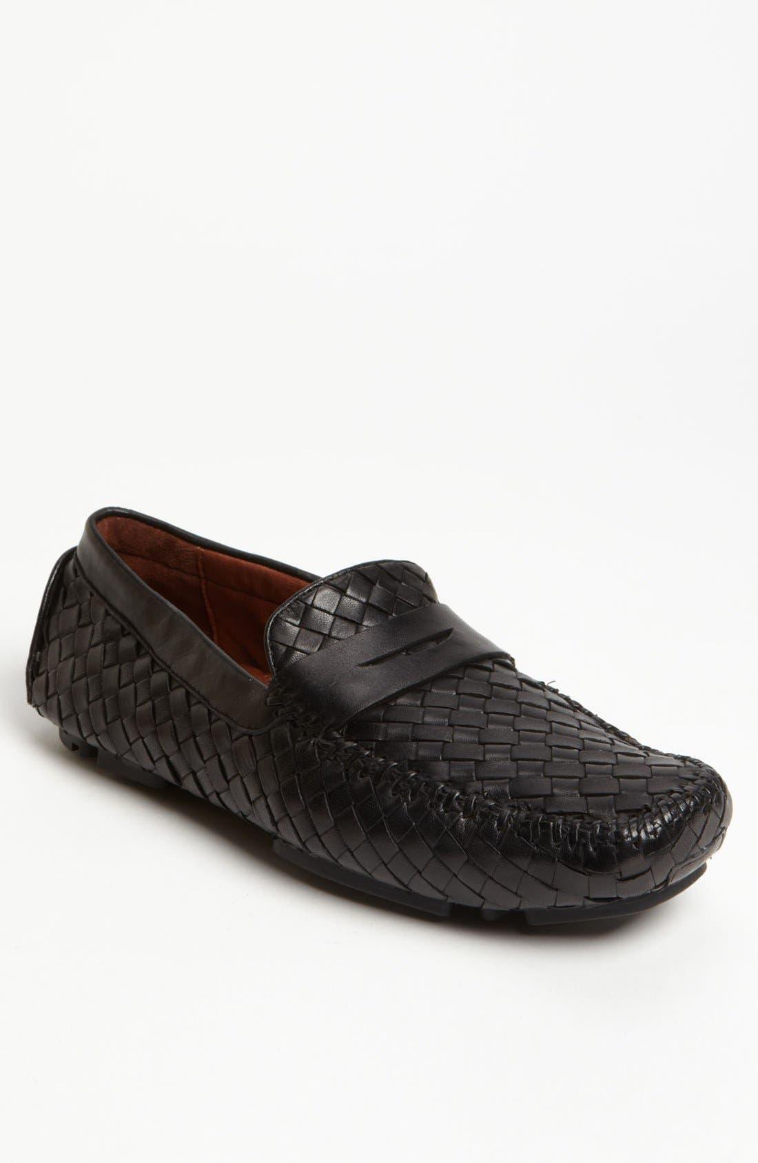 'San Tropez' Penny Loafer,                         Main,                         color, Black