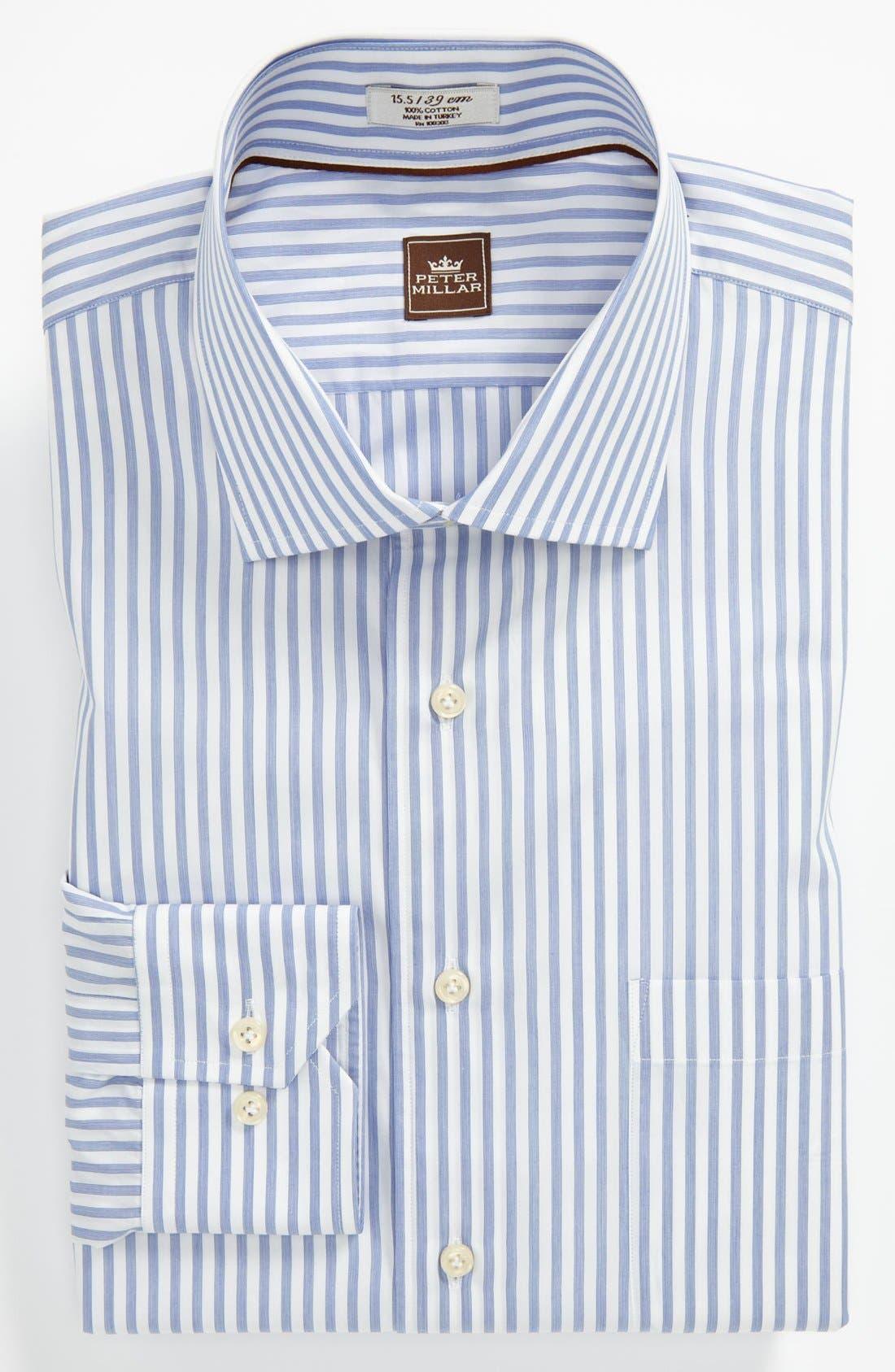 Main Image - Peter Millar Regular Fit Dress Shirt