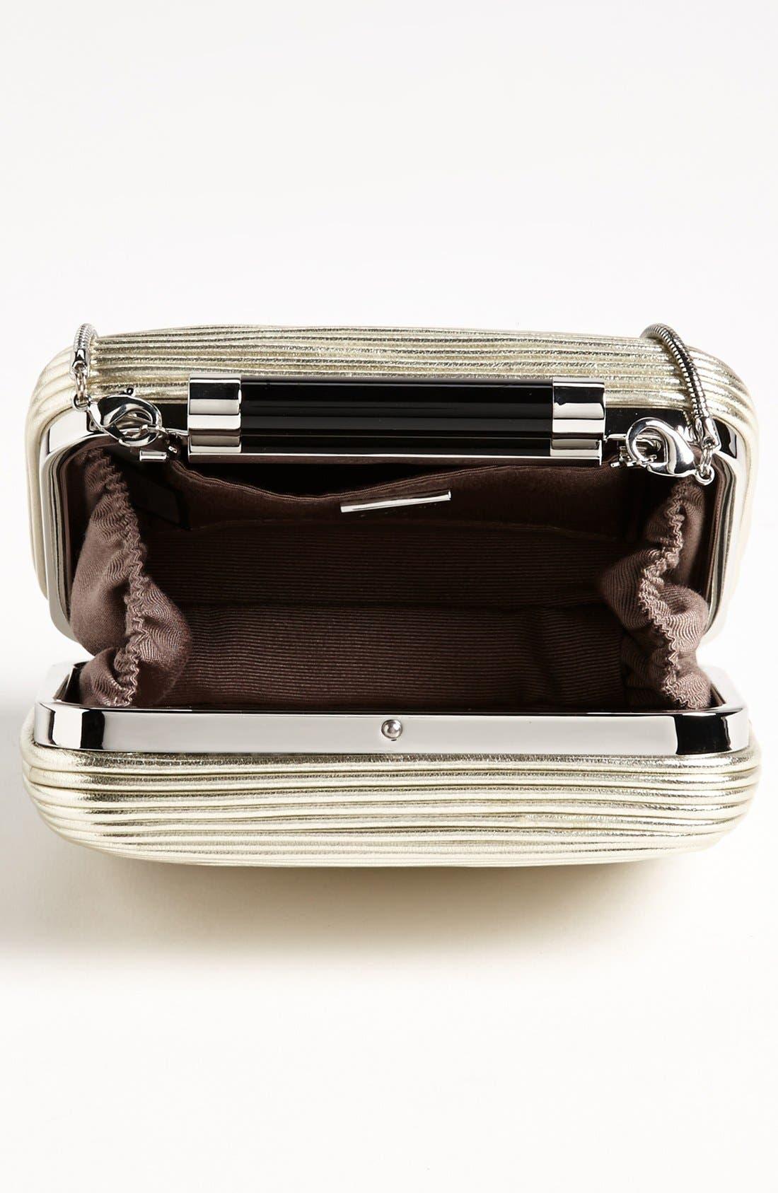 Alternate Image 3  - Diane von Furstenberg 'Tonda - Small' Passementerie Metallic Clutch