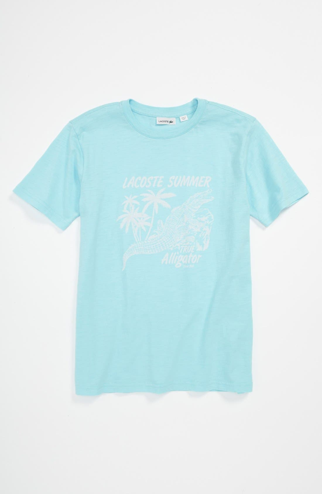 Main Image - Lacoste Graphic T-Shirt (Little Boys & Big Boys)