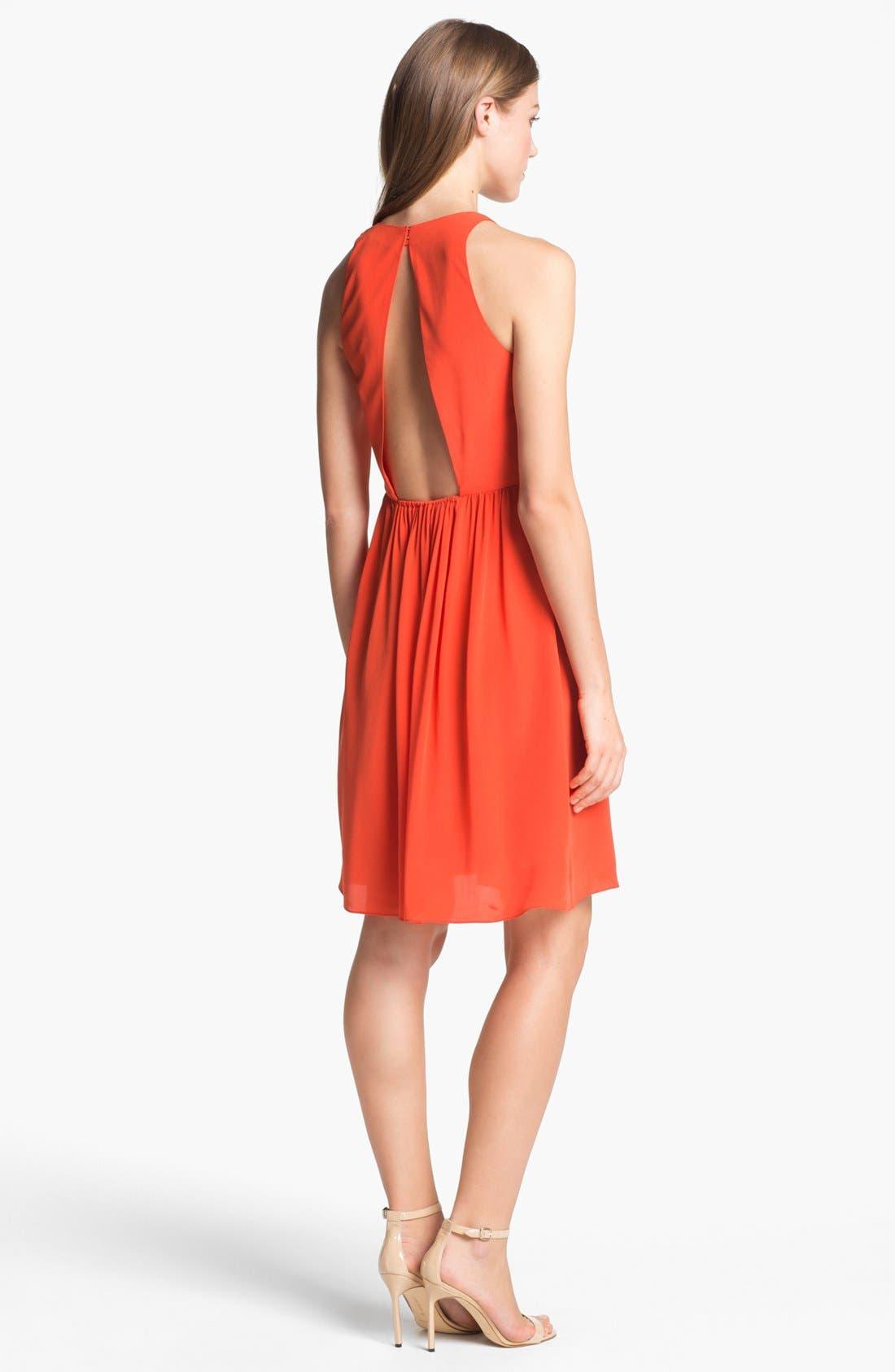 Alternate Image 2  - Rebecca Taylor 'Demi Femme' Silk Fit & Flare Dress