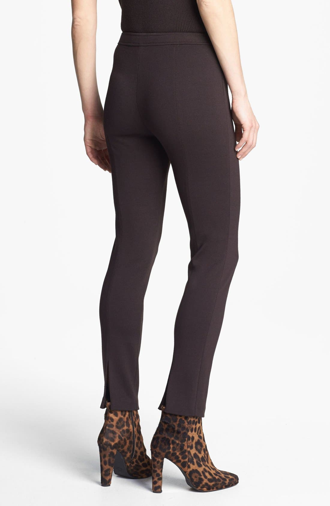 Alternate Image 2  - St. John Collection 'Alexa' Milano Knit Ankle Pants