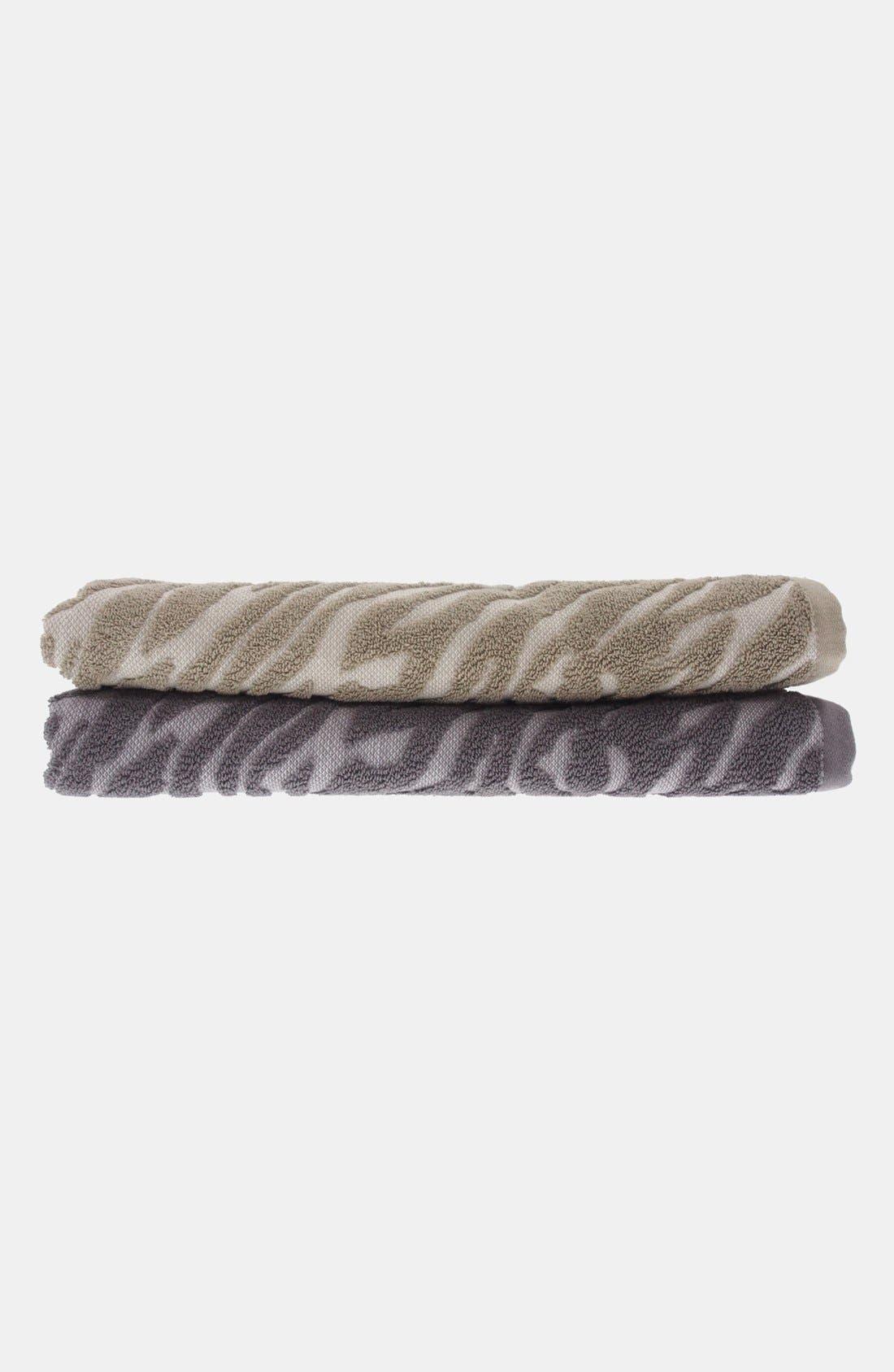 Alternate Image 3  - Nordstrom at Home Animal Jacquard Bath Towel