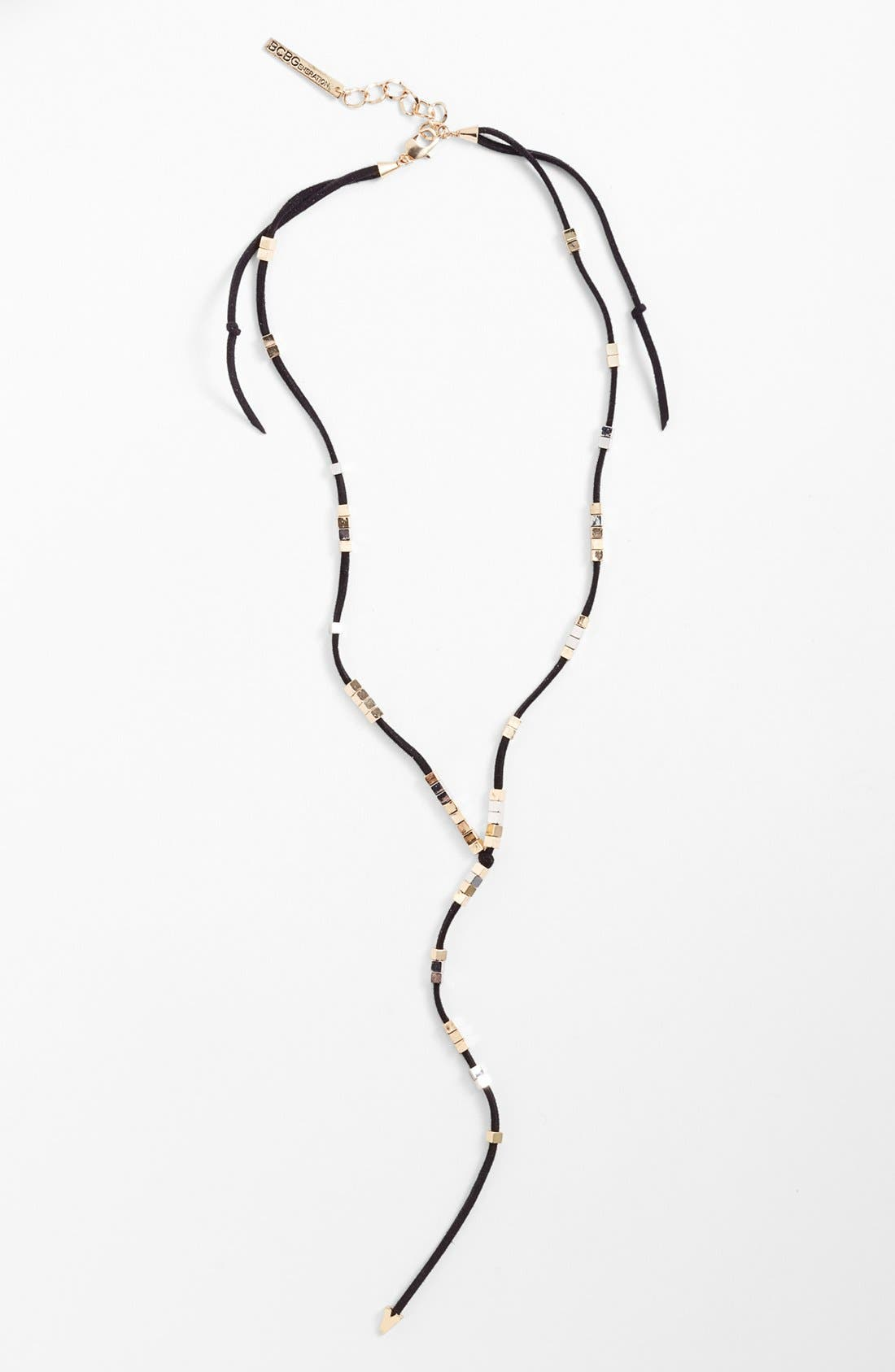 Main Image - BCBGeneration Suede Necklace