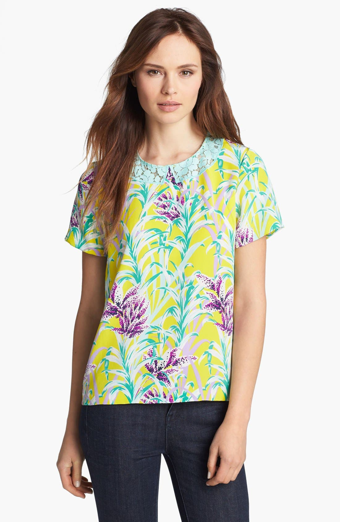 Alternate Image 1 Selected - kate spade new york 'roslyn' silk top