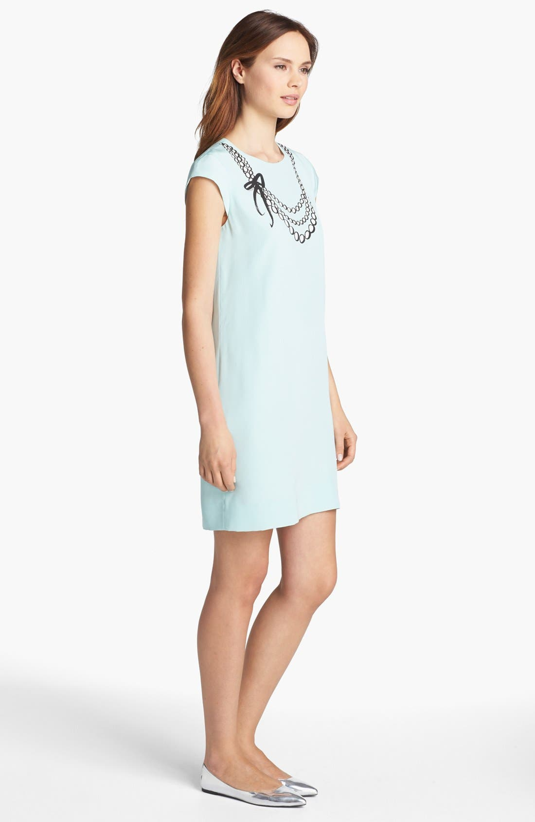 Alternate Image 3  - kate spade new york 'karine' silk shift dress