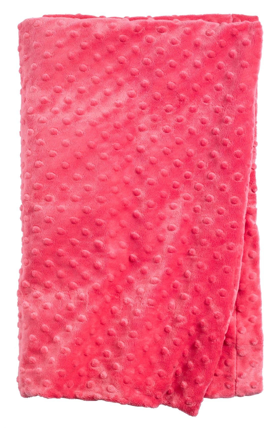 Main Image - Sonoma Lavender Hot Pink Dot Blankie (Nordstrom Exclusive) ($64 Value)