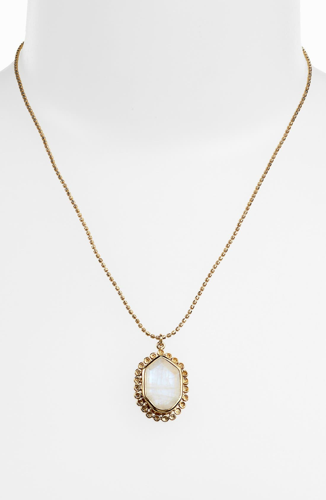 Alternate Image 1 Selected - Melinda Maria 'Alex Slice' Pendant Necklace