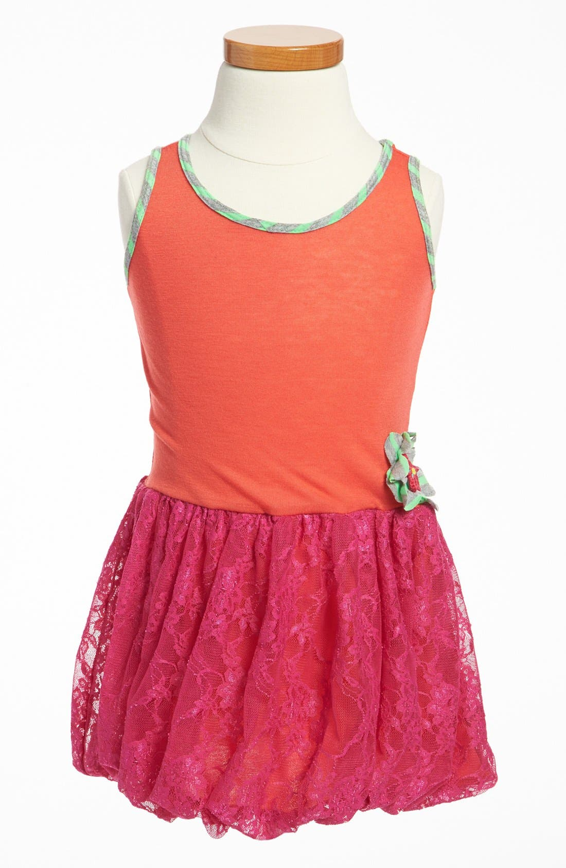 Main Image - Twirls & Twigs Bubble Skirt Dress (Toddler)