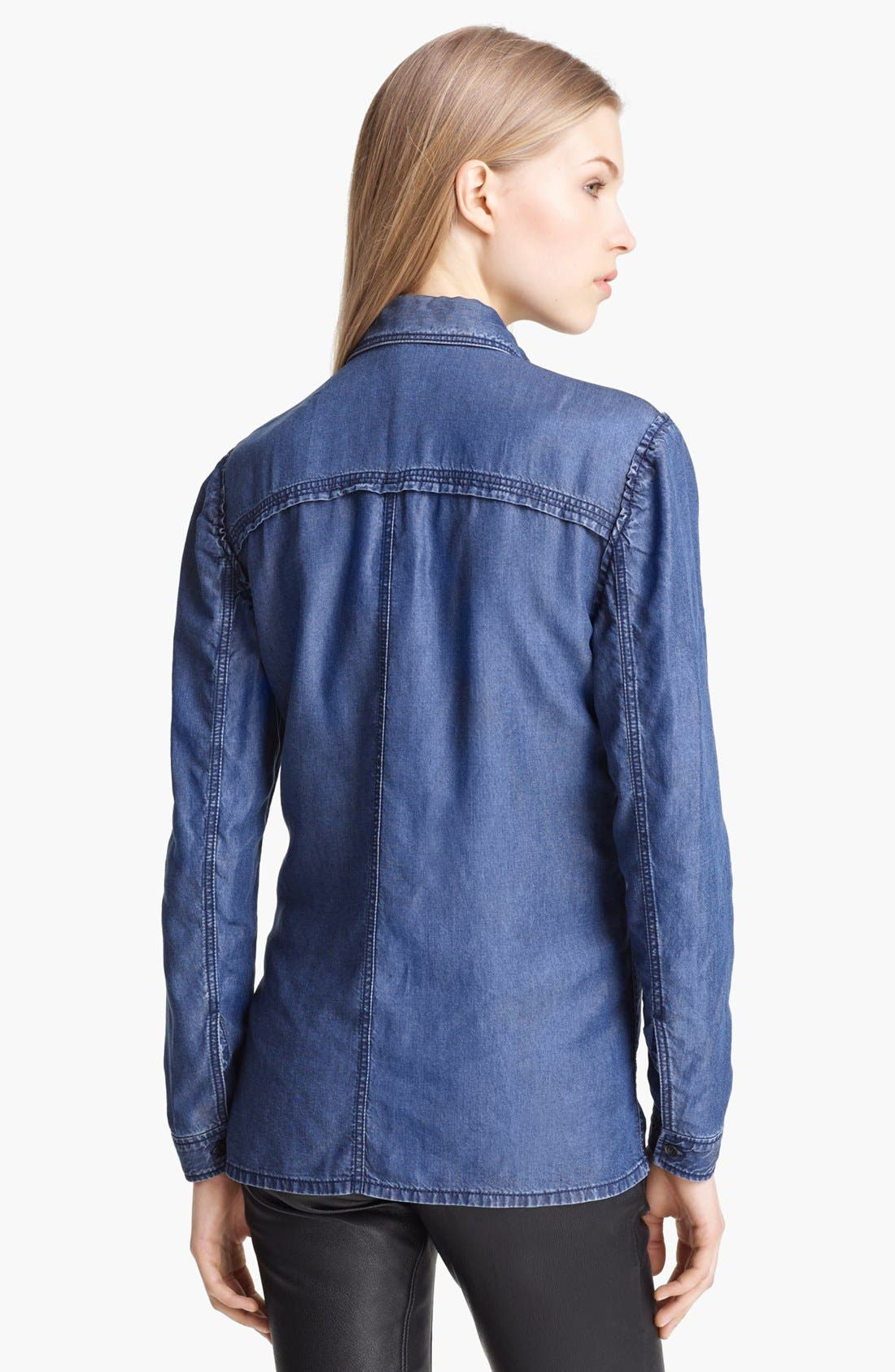 Alternate Image 2  - Burberry Brit Denim Shirt