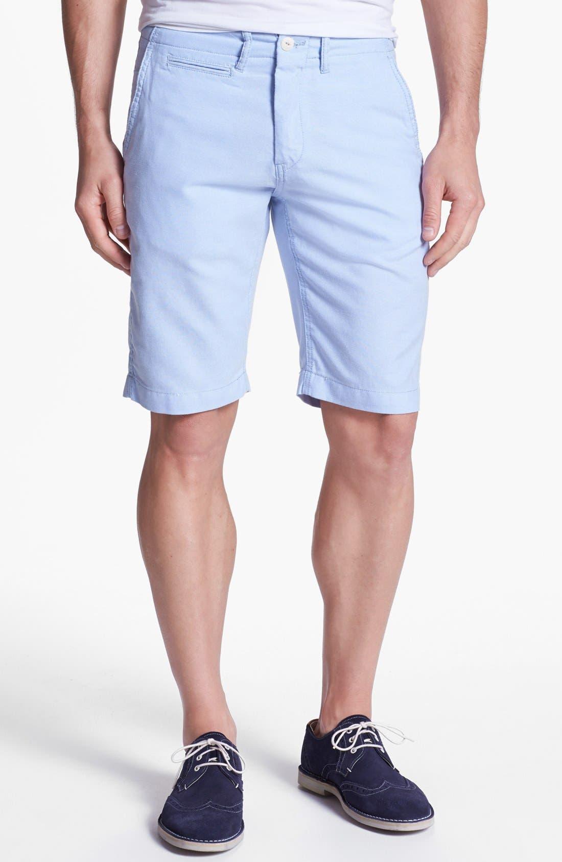 Main Image - Façonnable Tailored Denim Bermuda Shorts