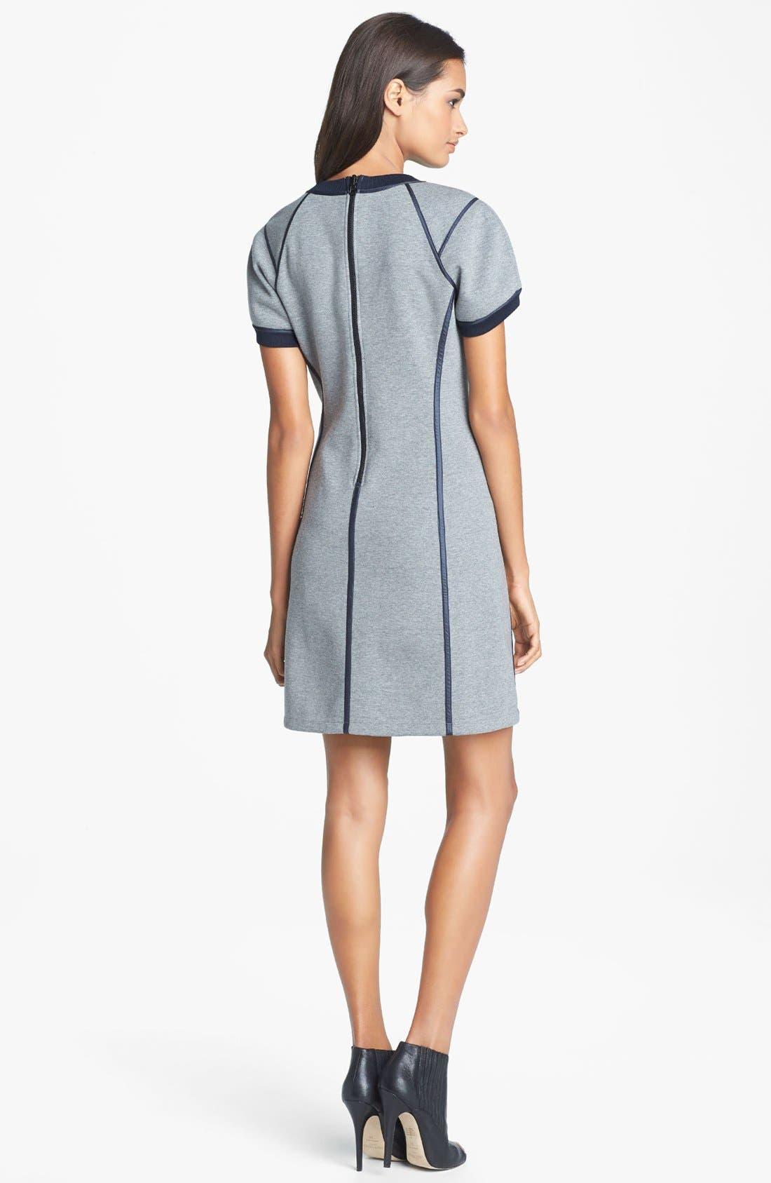 Alternate Image 2  - Theory 'Nevassa' Cotton Blend Dress