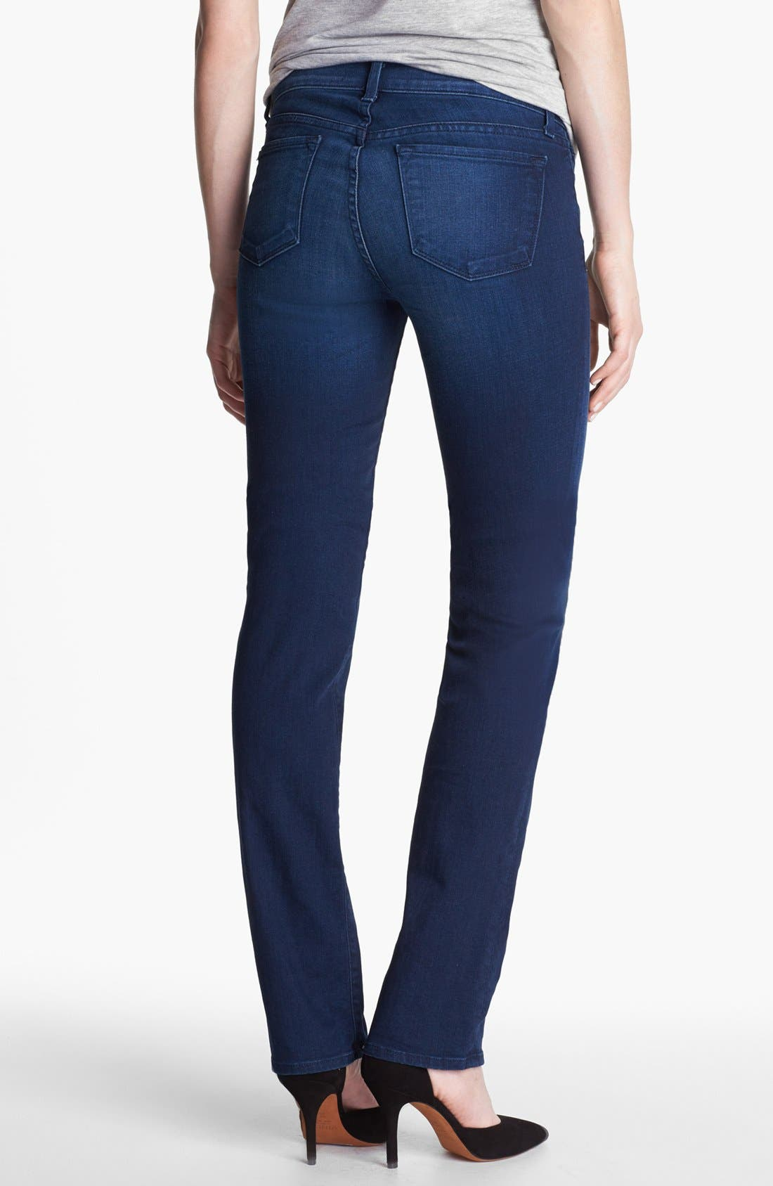 Alternate Image 2  - J Brand '814' Mid-Rise Cigarette Leg Jeans (Avalon)