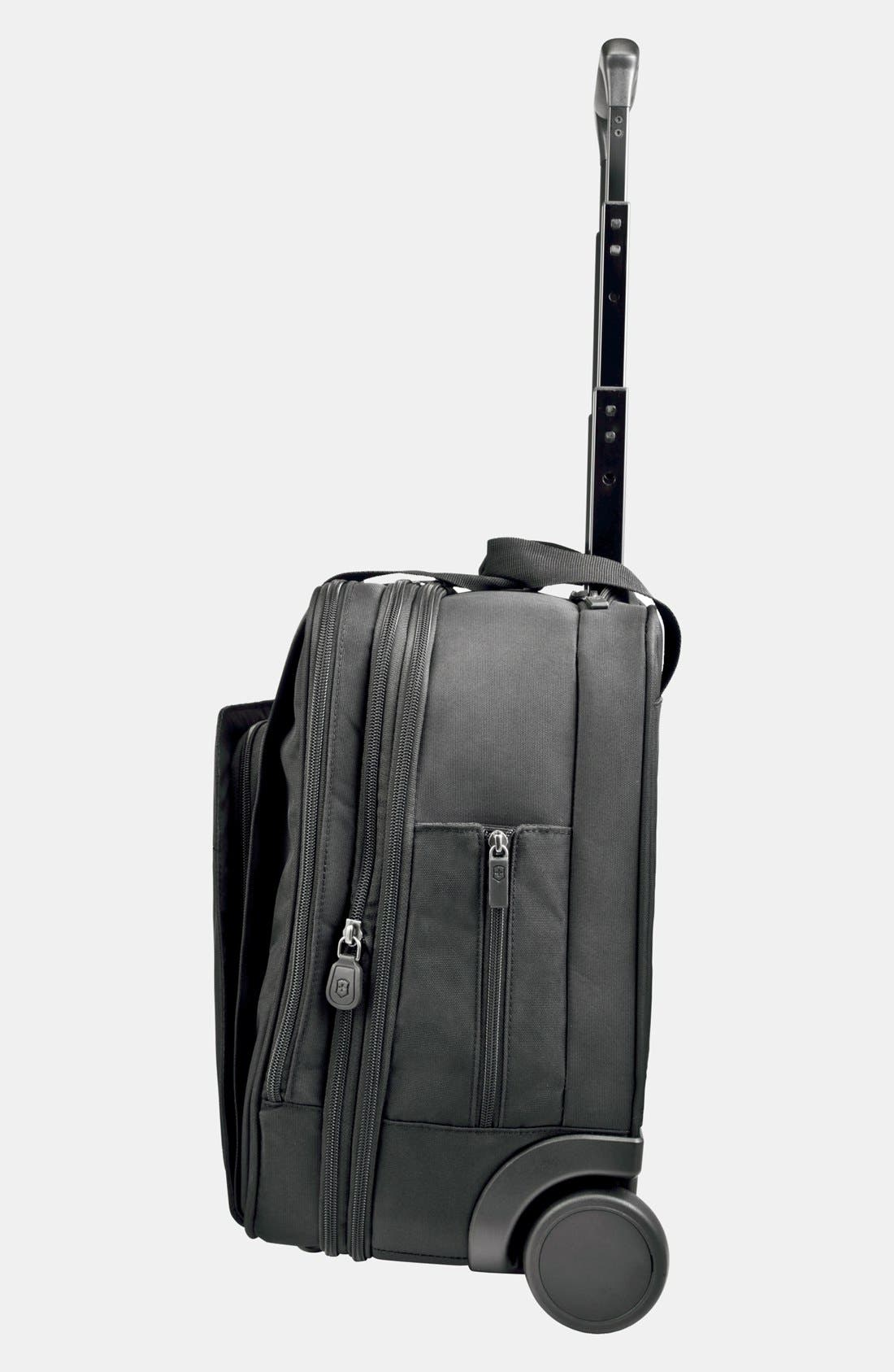 Alternate Image 2  - Victorinox Swiss Army® 'Professional Officer' Rolling Carry-On