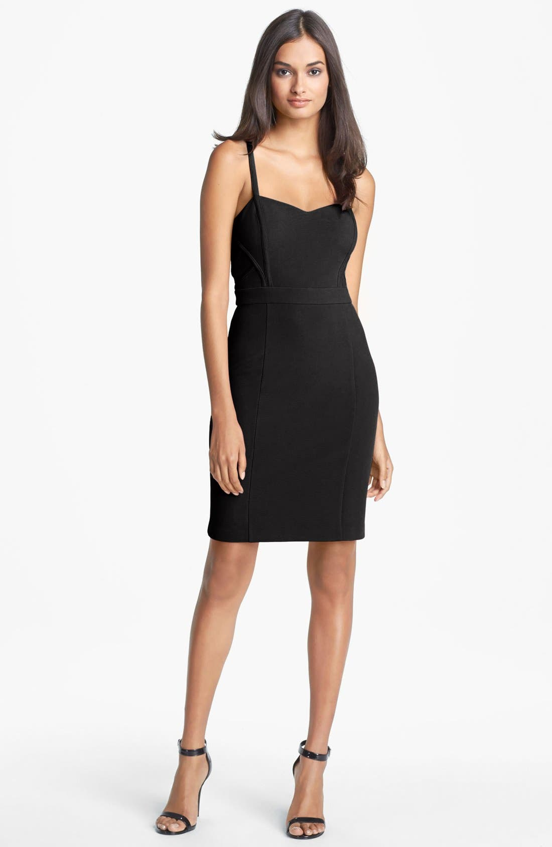 Main Image - Hailey by Adrianna Papell Seamed Body-Con Dress (Online Only)