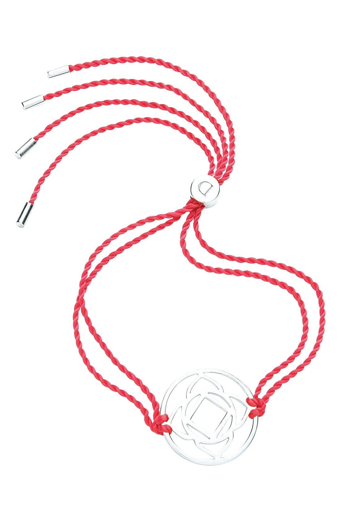 Alternate Image 1 Selected - Daisy London 'Base Chakra' Cord Bracelet