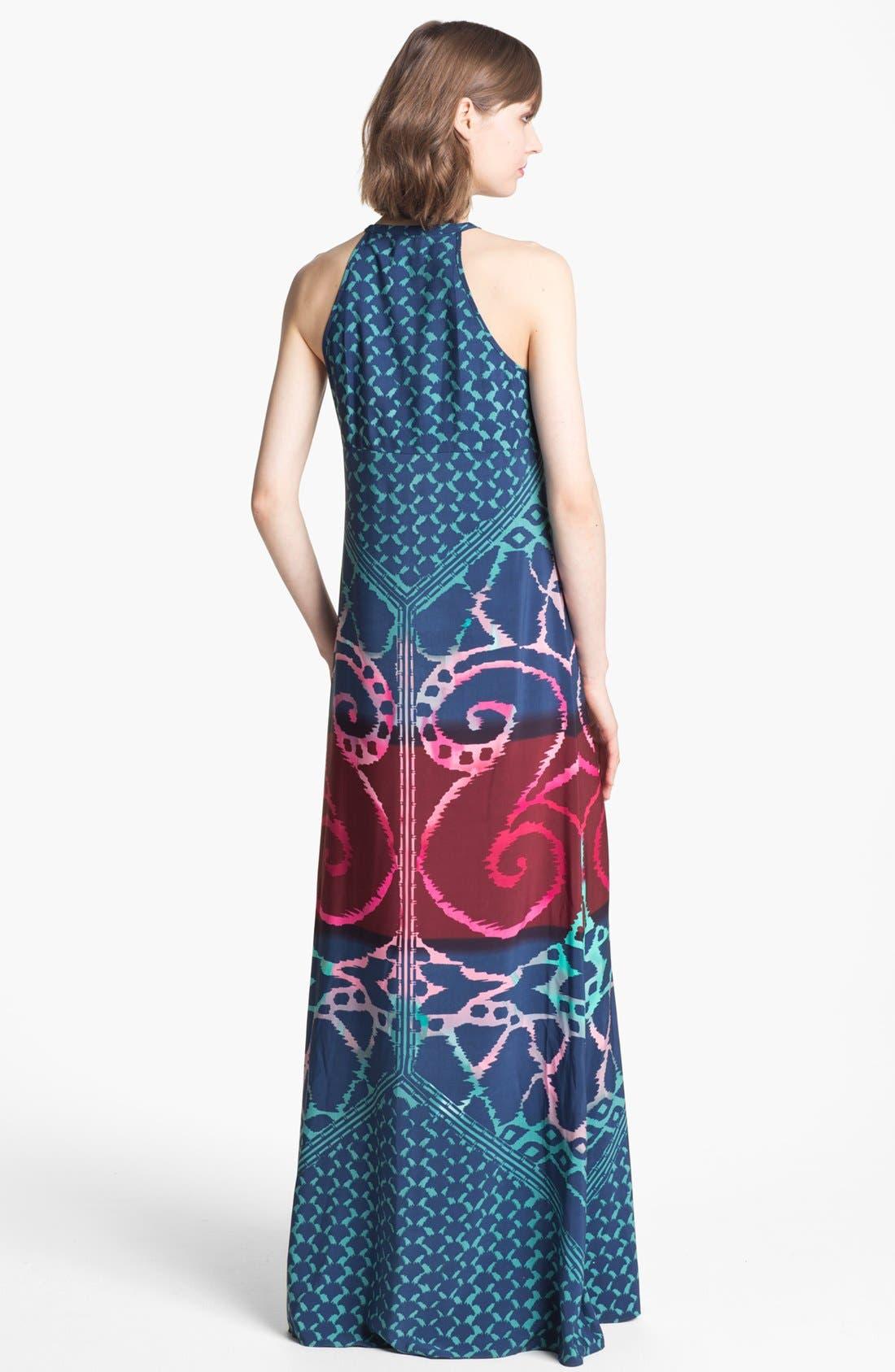 Alternate Image 2  - Donna Morgan Print Maxi Dress