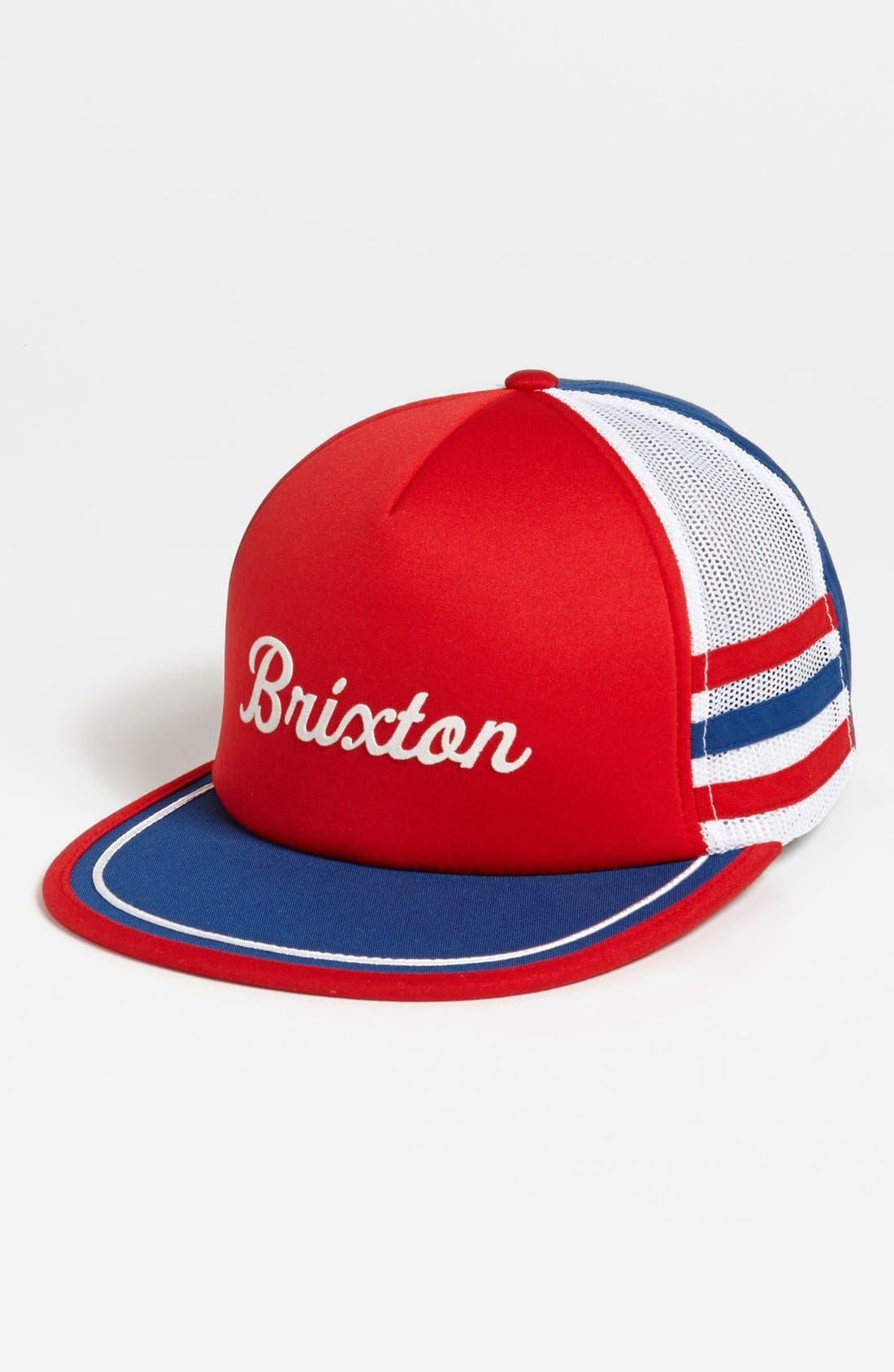 Main Image - Brixton 'Pilsner America' Trucker Cap